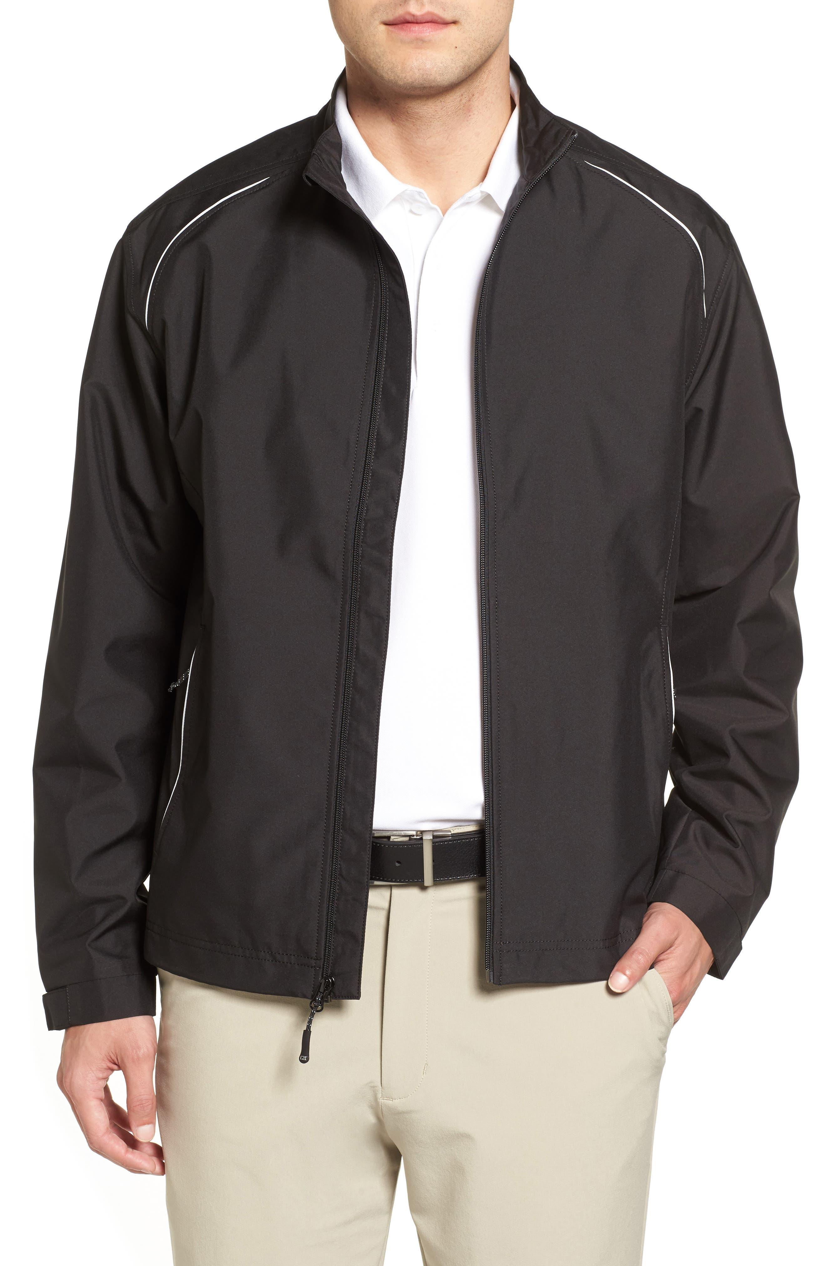 WeatherTec Beacon Water Resistant Jacket,                             Main thumbnail 1, color,                             Black
