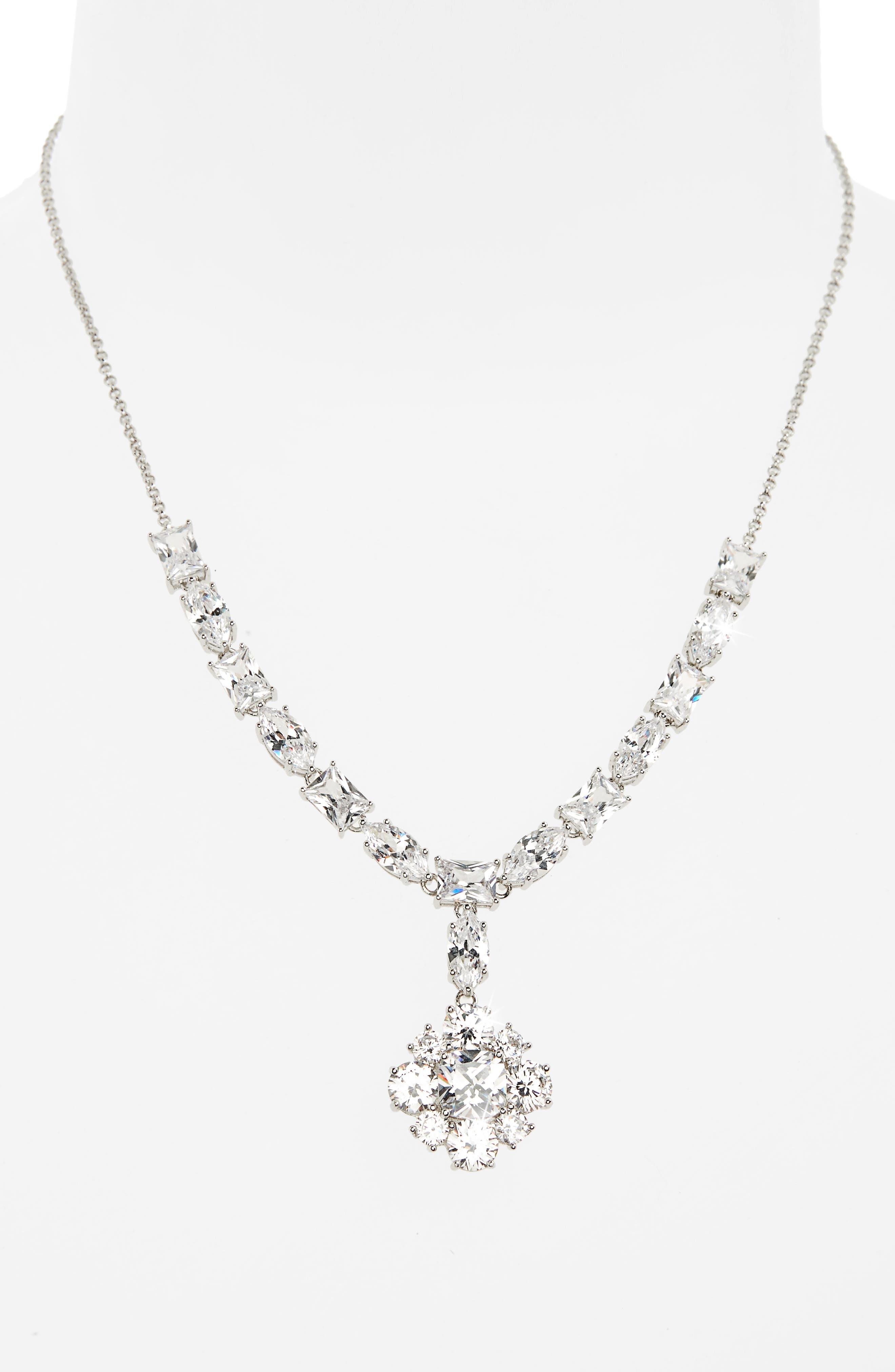 Alternate Image 2  - Nina Cluster Pendant Necklace