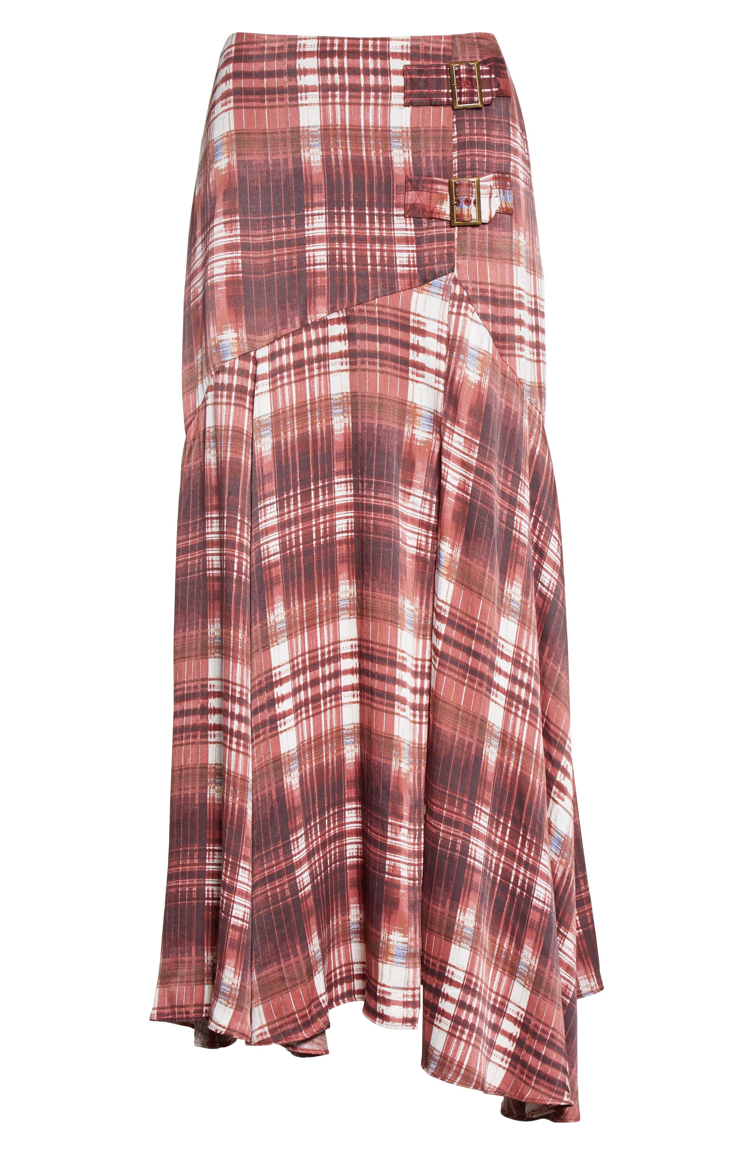 Alternate Image 6  - Free People Season of the Wind Midi Skirt