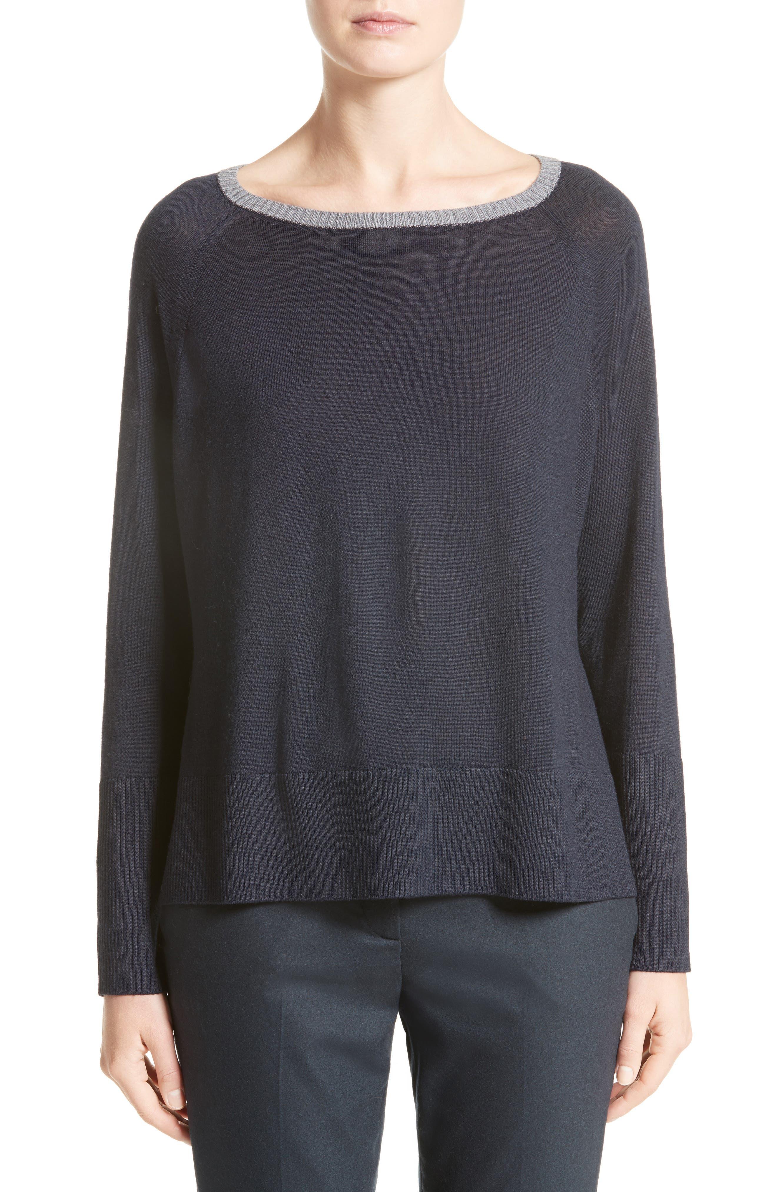 Fabiana Filippi Side Zip Wool Pullover