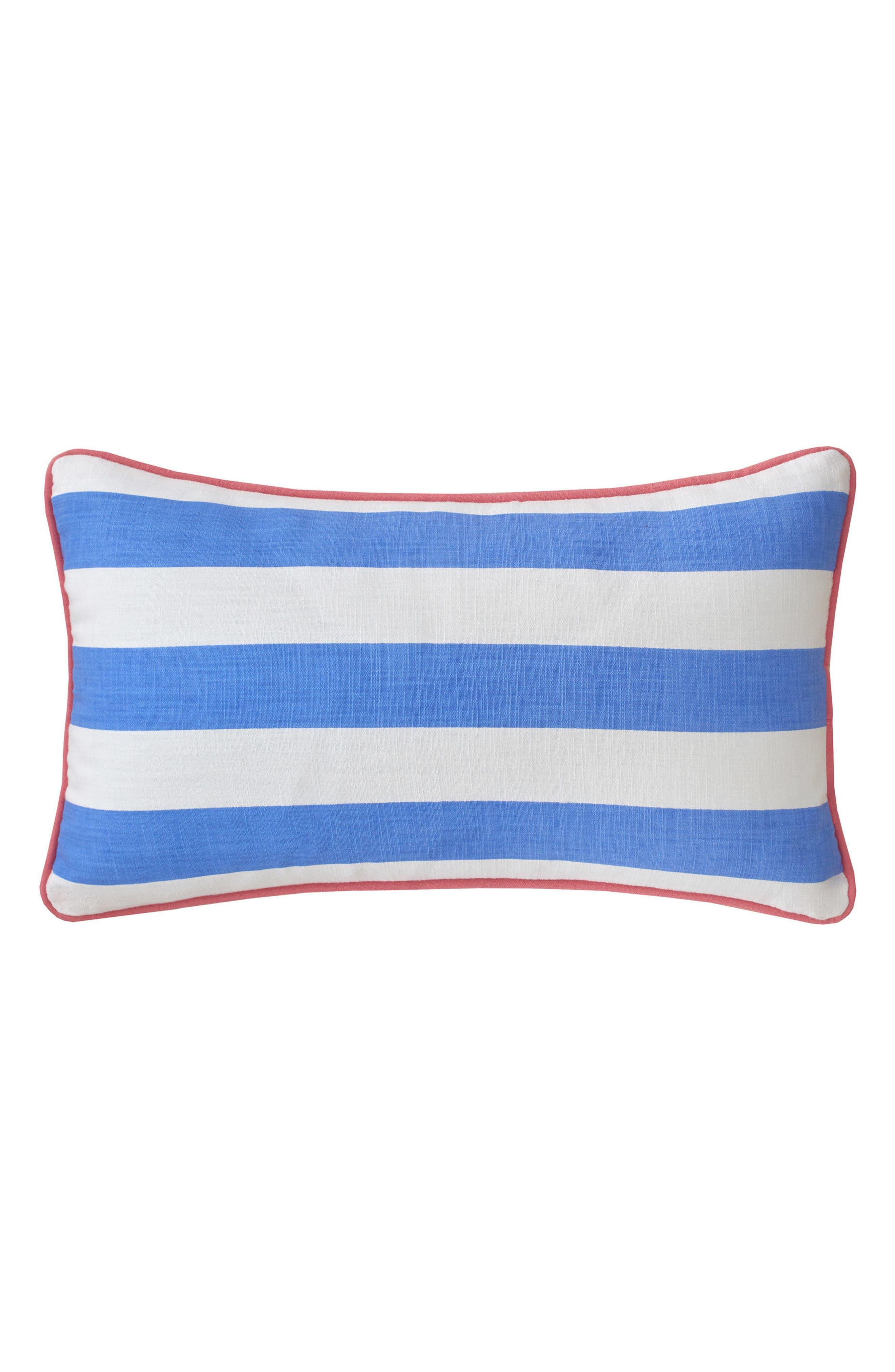 Main Image - Southern Tide Coastal Ikat Stripe Accent Pillow