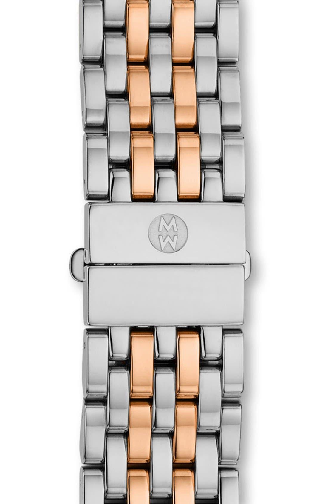 Serein 16 16mm Bracelet Watchband,                         Main,                         color, Silver/ Rose Gold
