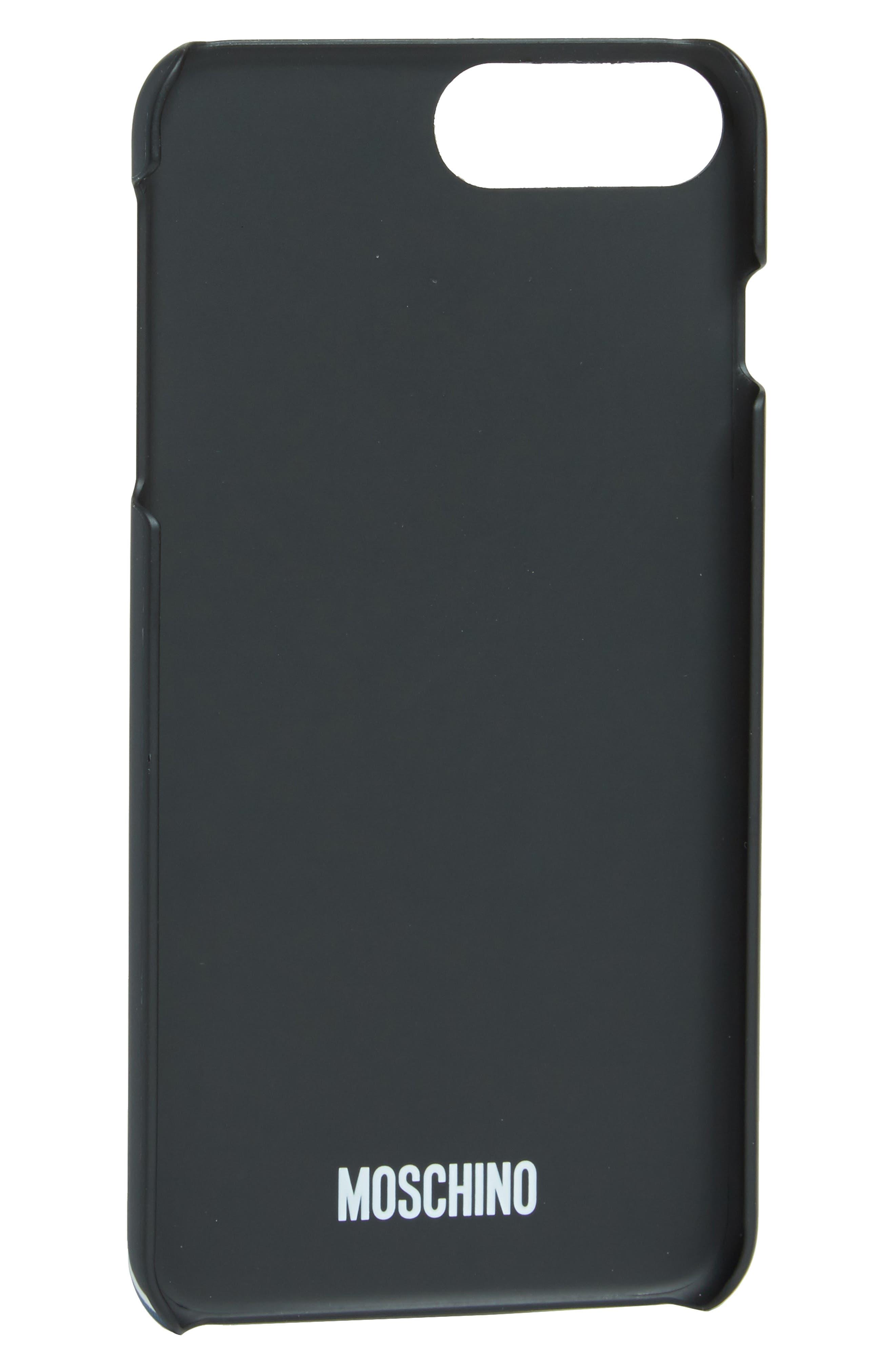 Alternate Image 2  - Moschino Statue Graphic iPhone 6/6s/7 Case