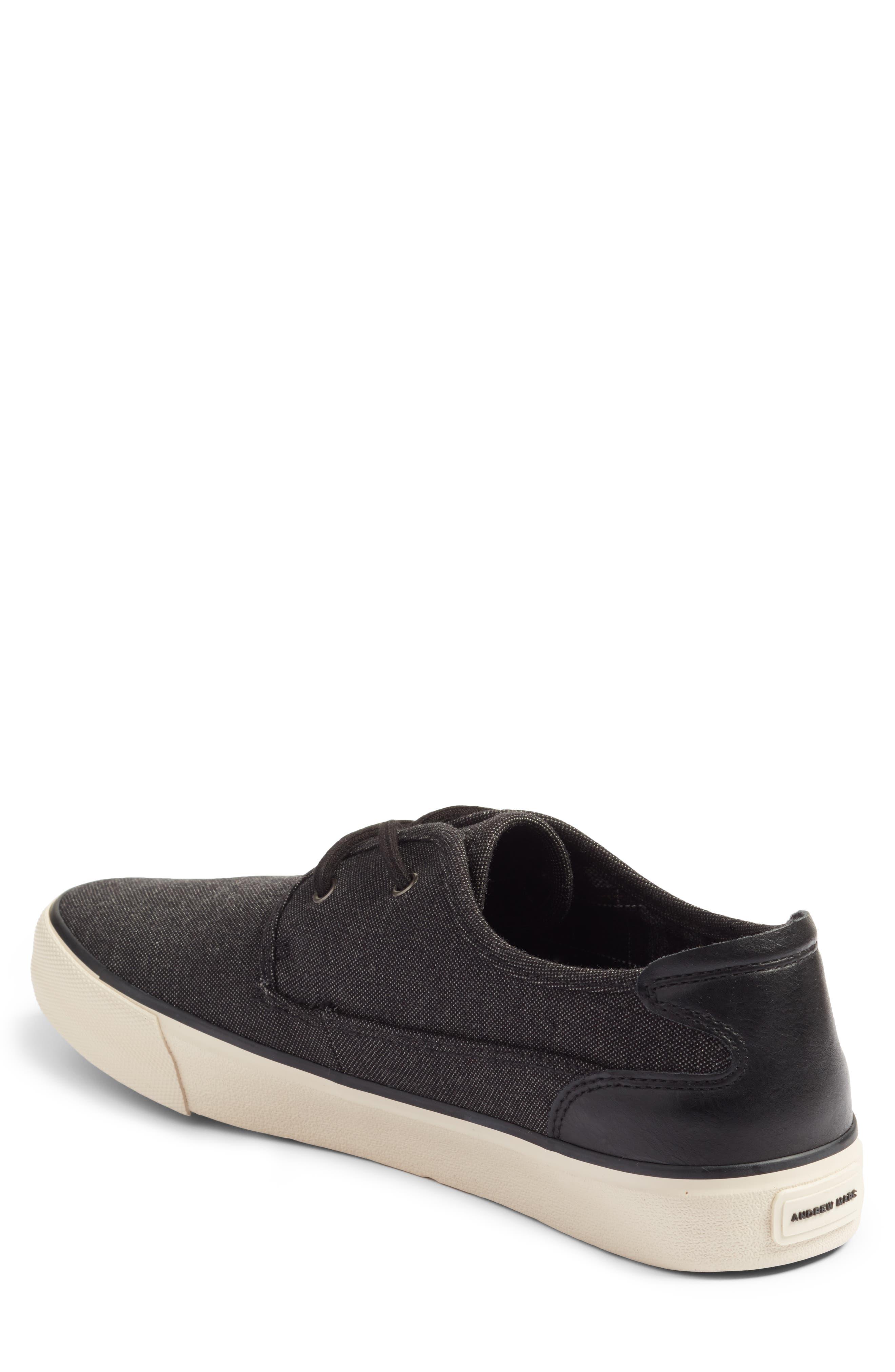 Morris Sneaker,                             Alternate thumbnail 2, color,                             Black/ Bone
