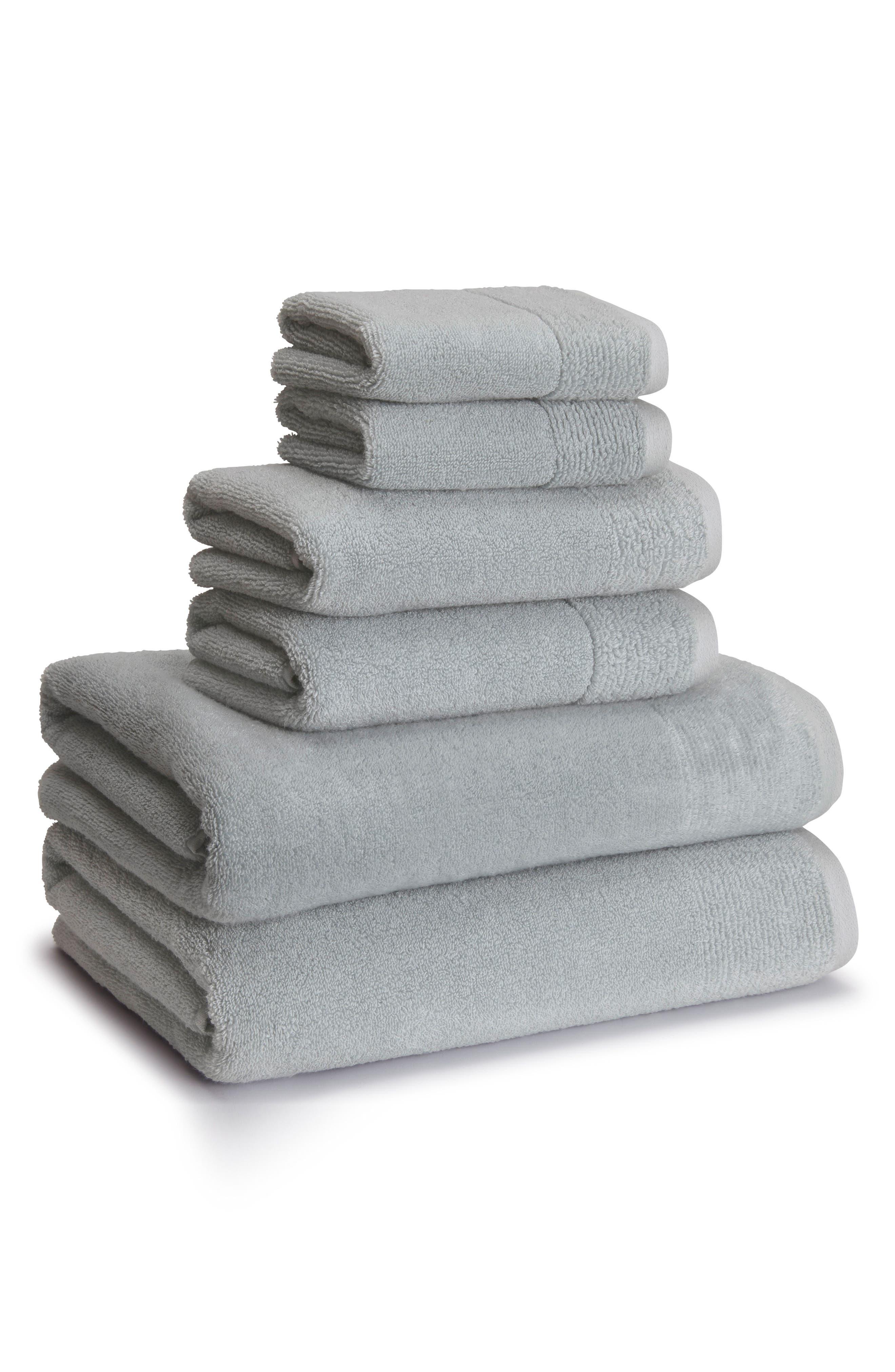 Kyoto Bath Towel,                             Main thumbnail 1, color,                             Raindrop