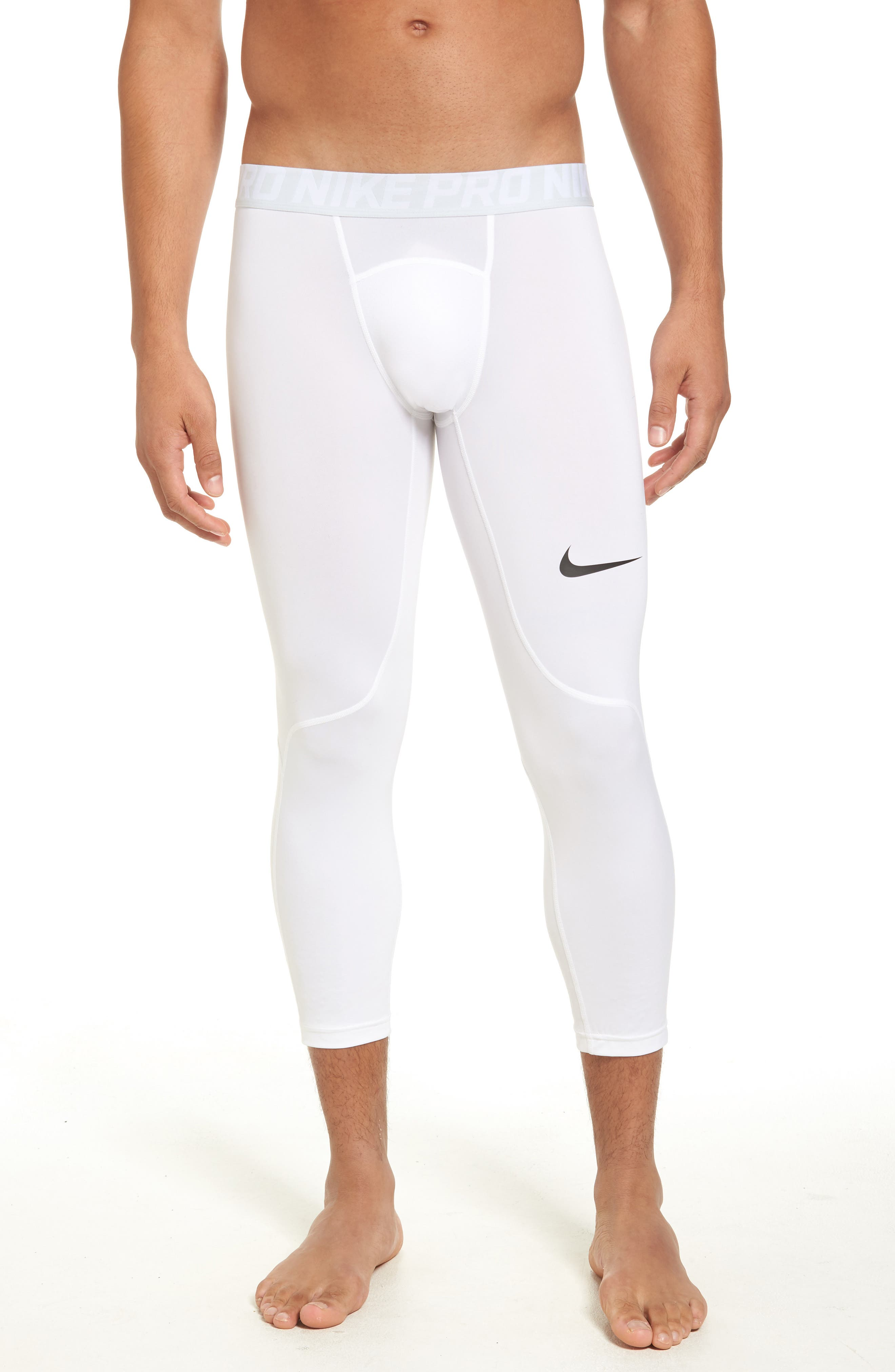Nike Pro Three Quarter Training Tights (Regular Retail Price: $32.00)