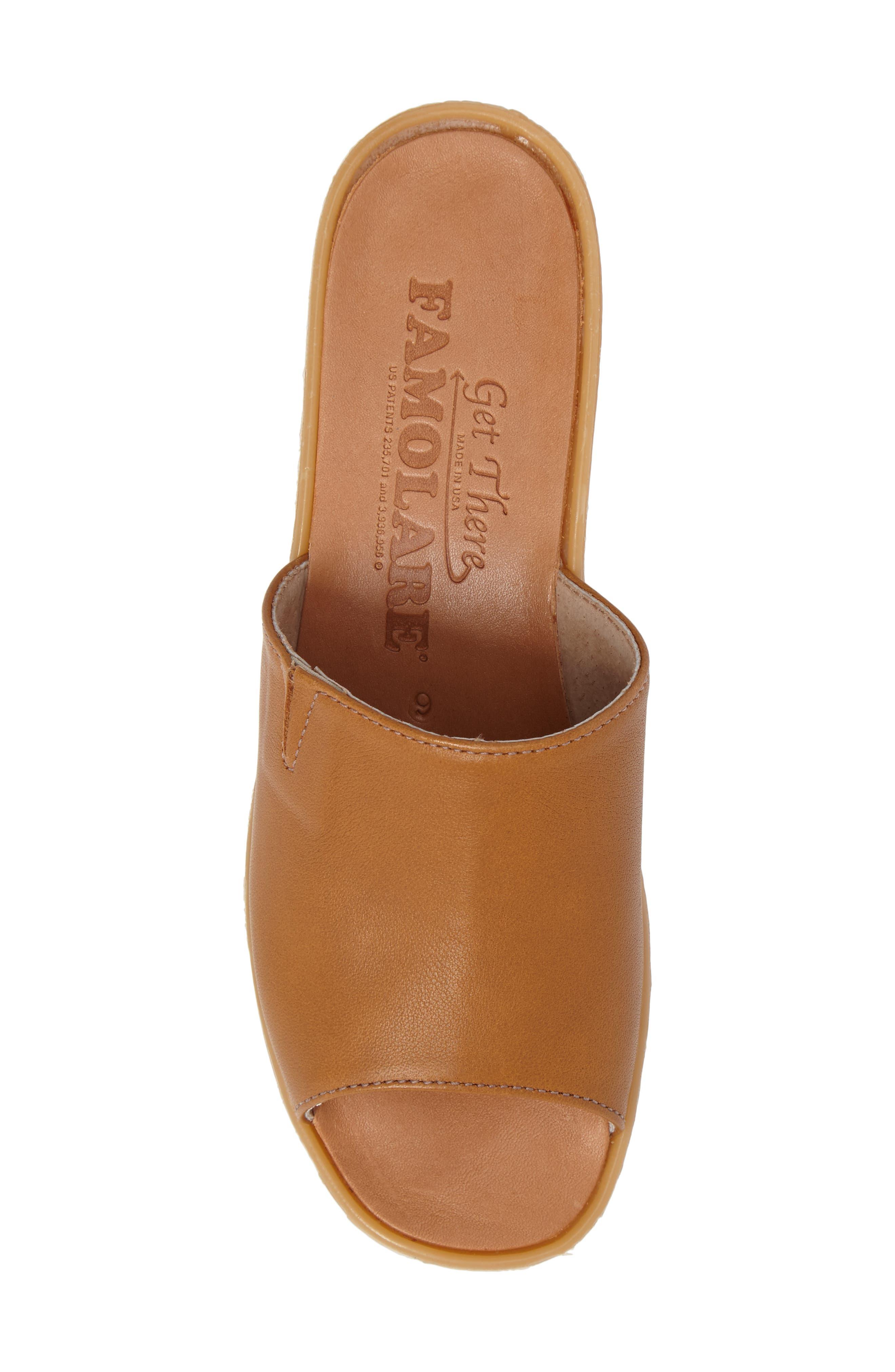Alternate Image 5  - Famolare Slide N Sleek Wedge Slide Sandal (Women)