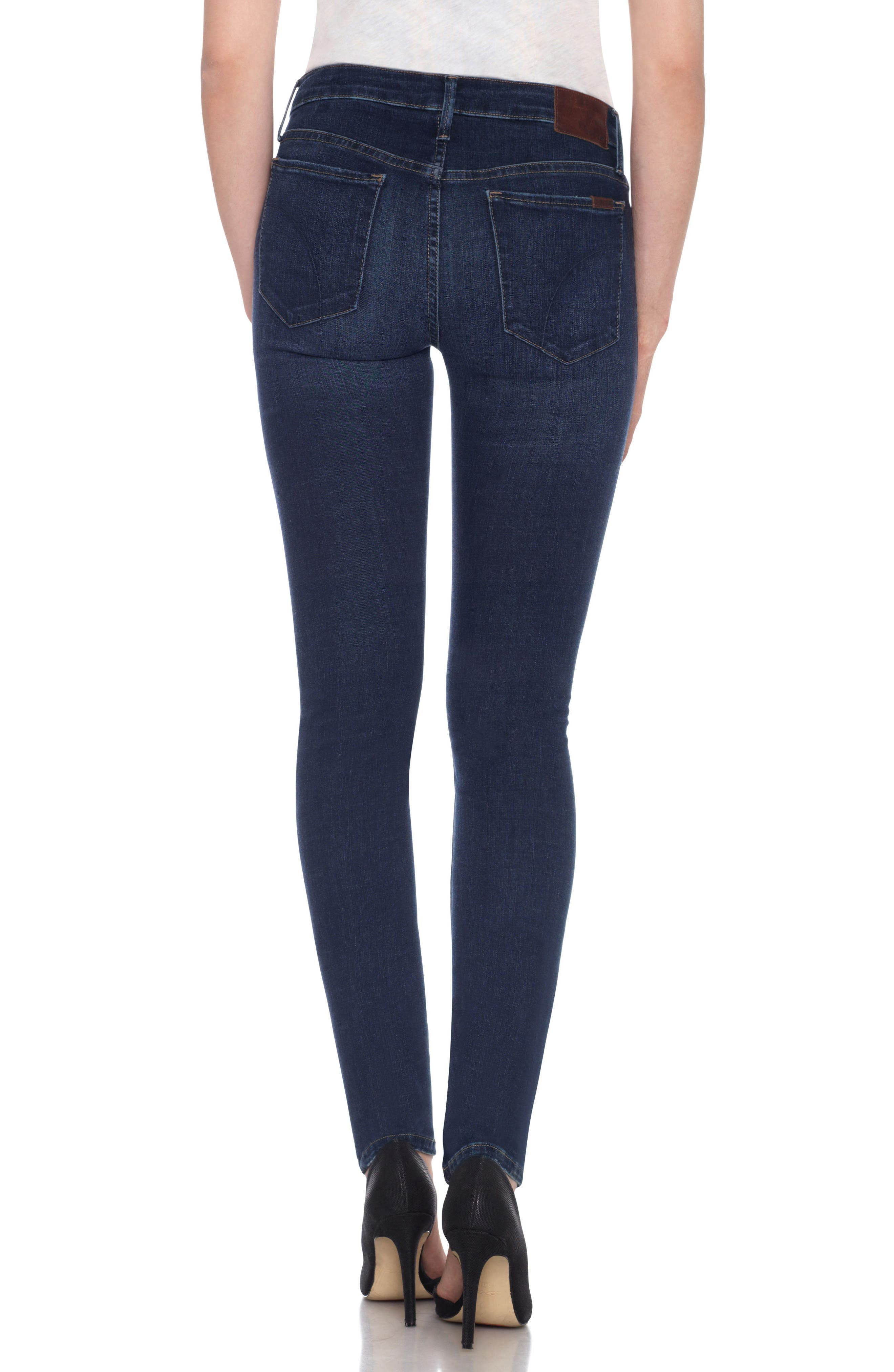 Flawless Twiggy Skinny Jeans,                             Alternate thumbnail 2, color,                             Dima