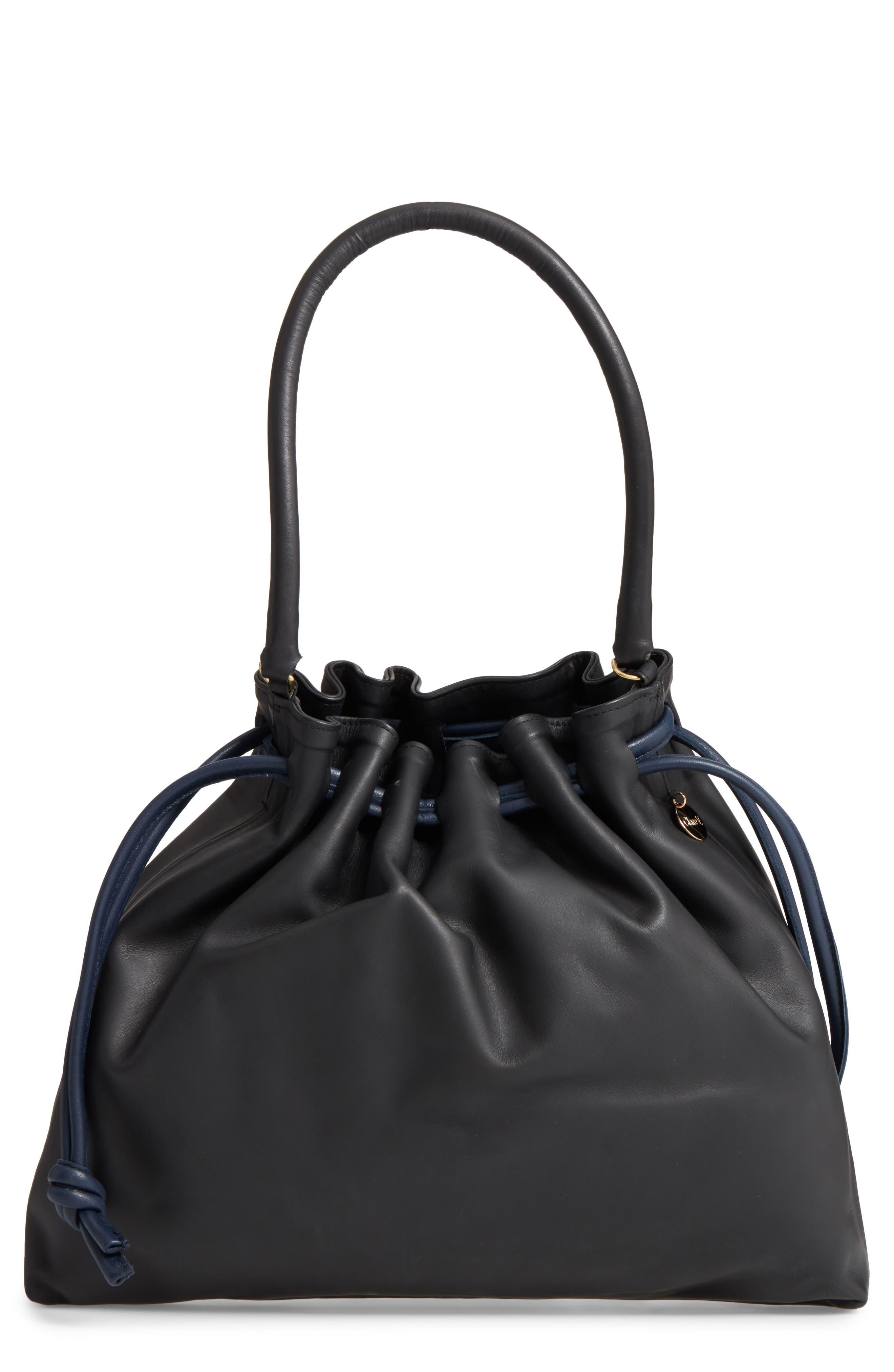 Clare V. Henri Drawstring Shoulder Bag