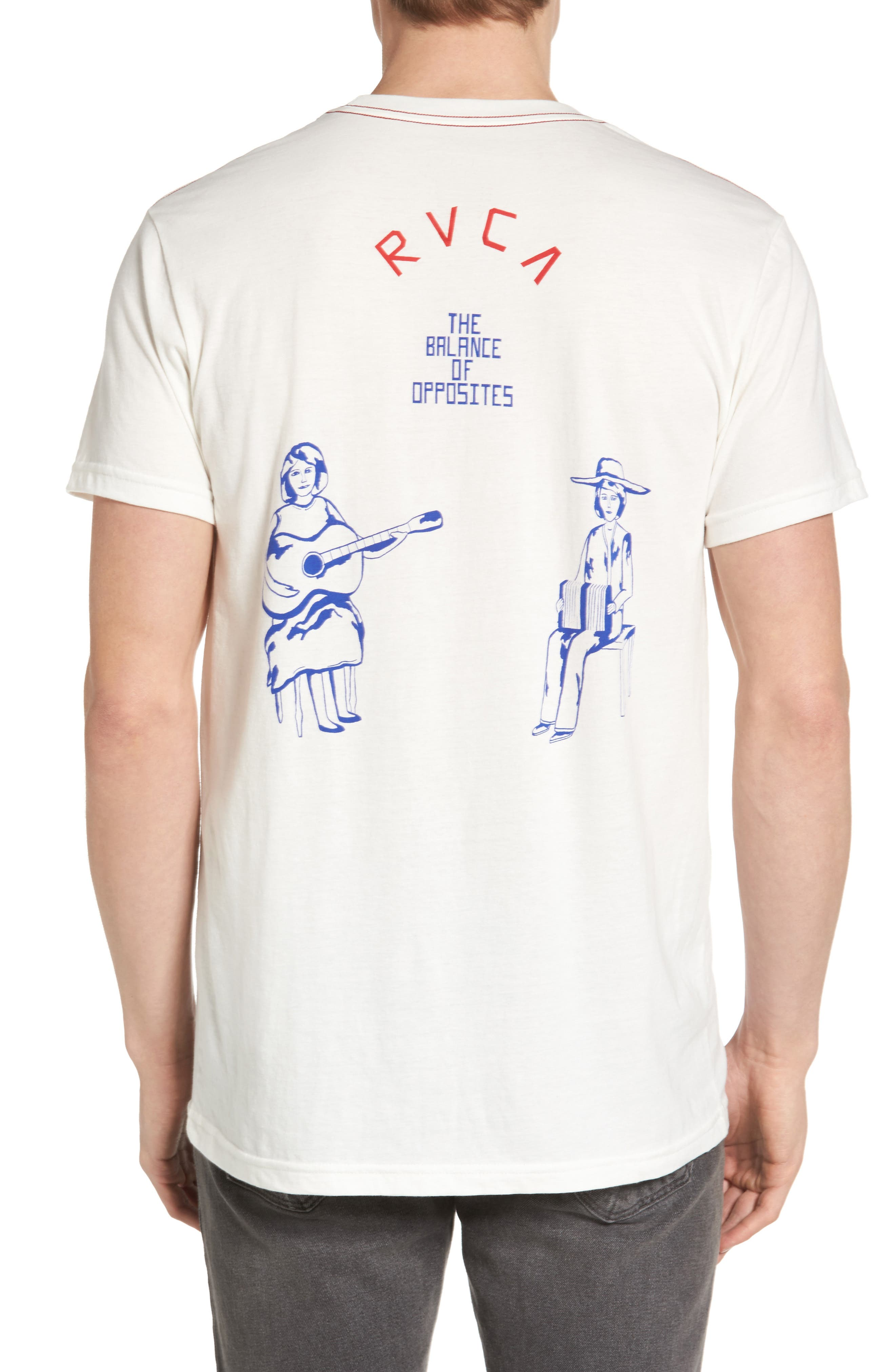 Alternate Image 2  - RVCA Stoop Music Pocket Graphic T-Shirt