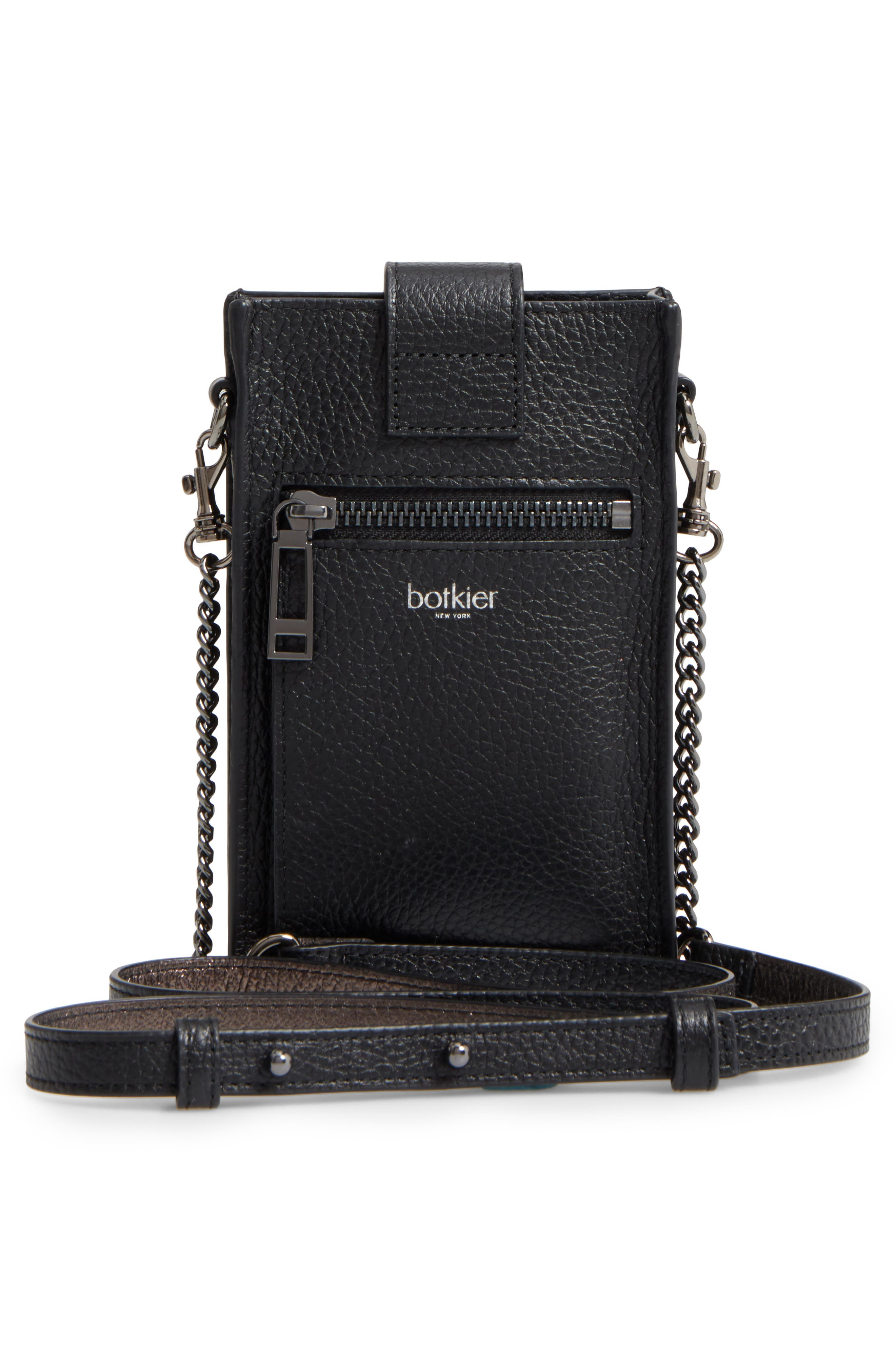 Alternate Image 3  - Botkier Leather Phone Crossbody Case (Nordstrom Exclusive)