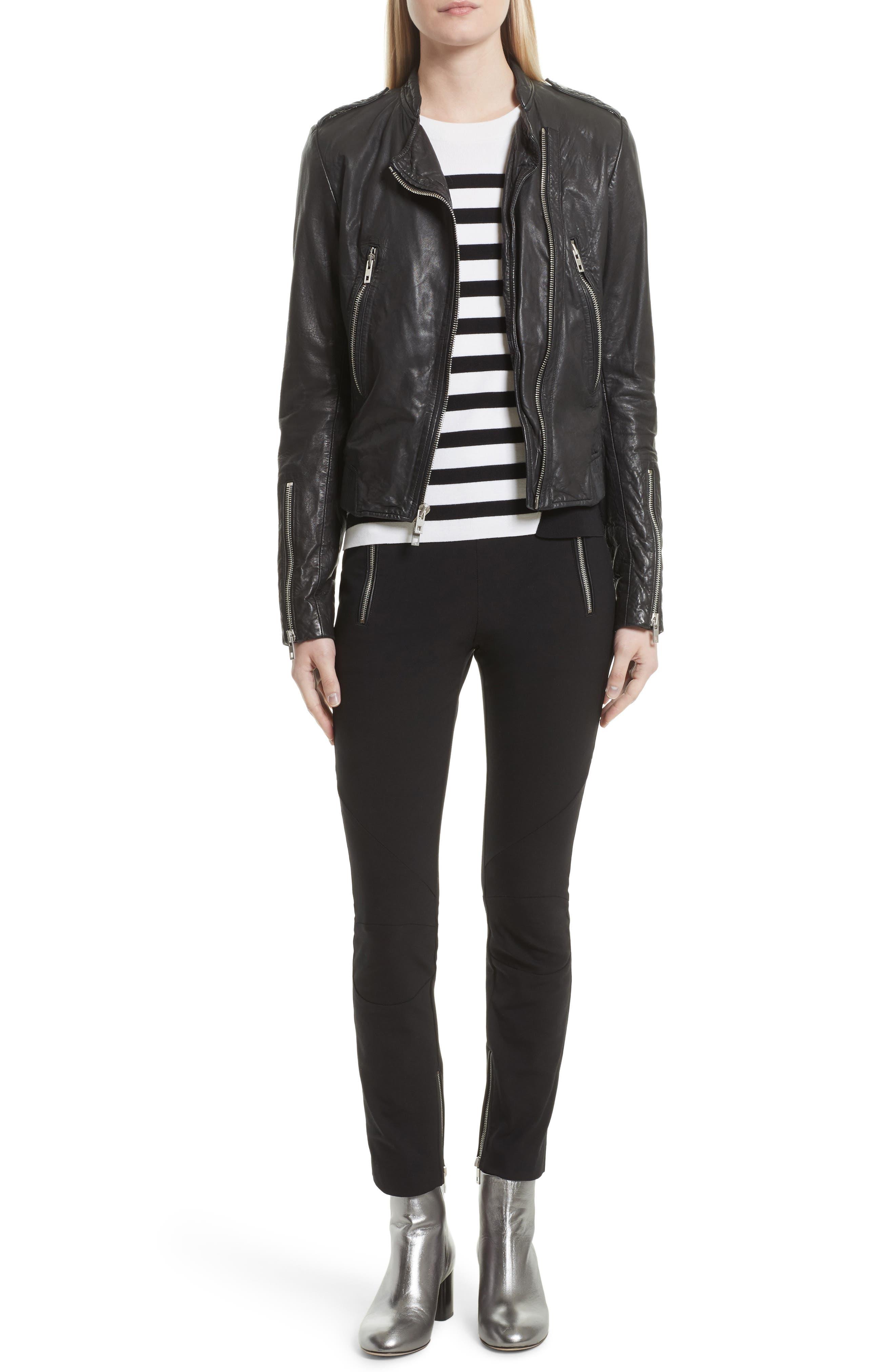 Alternate Image 2  - rag & bone Lyon Leather Jacket