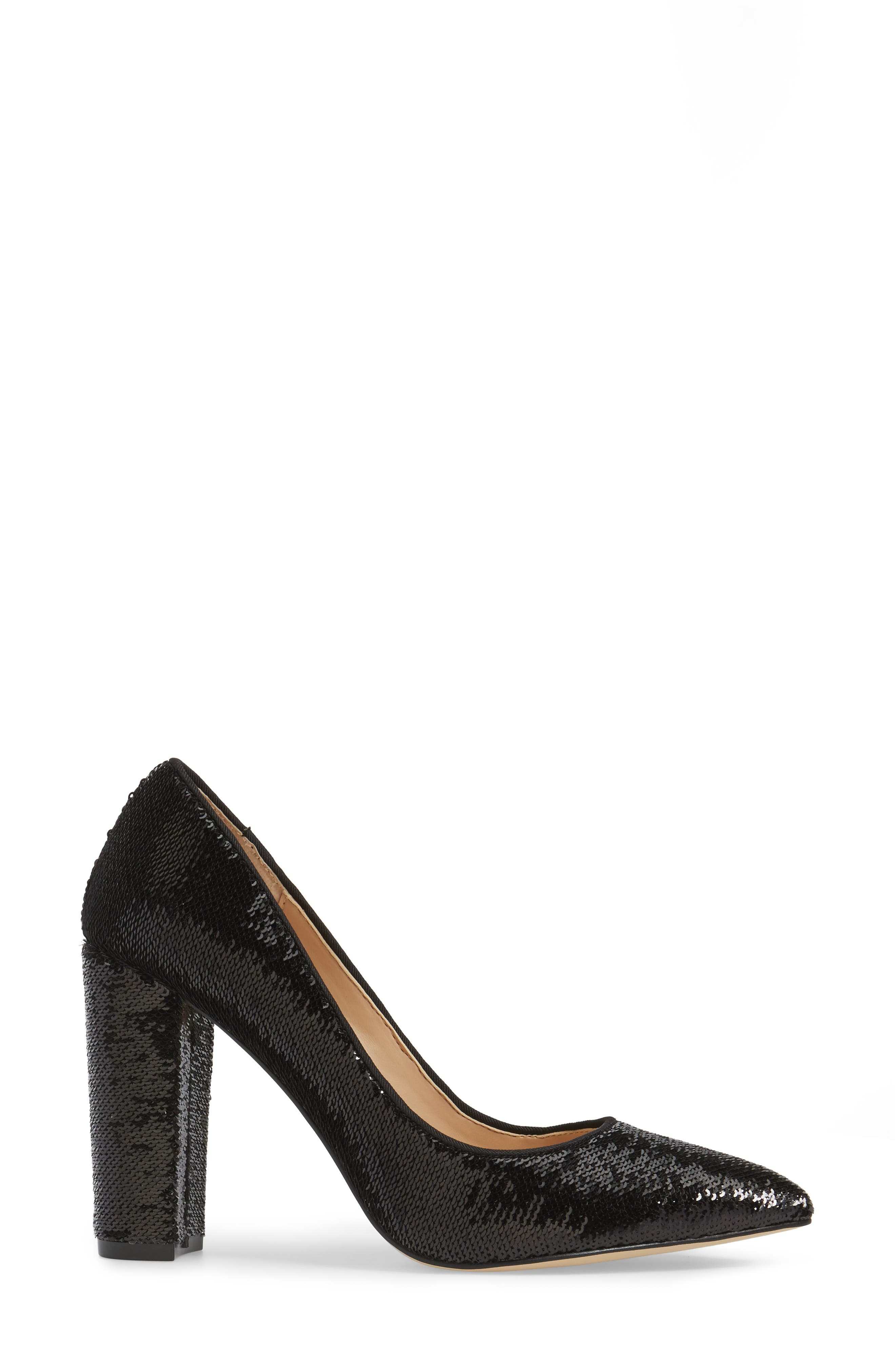 Alternate Image 3  - Jewel Badgley Mischka Luxury Pointy Toe Pump (Women)