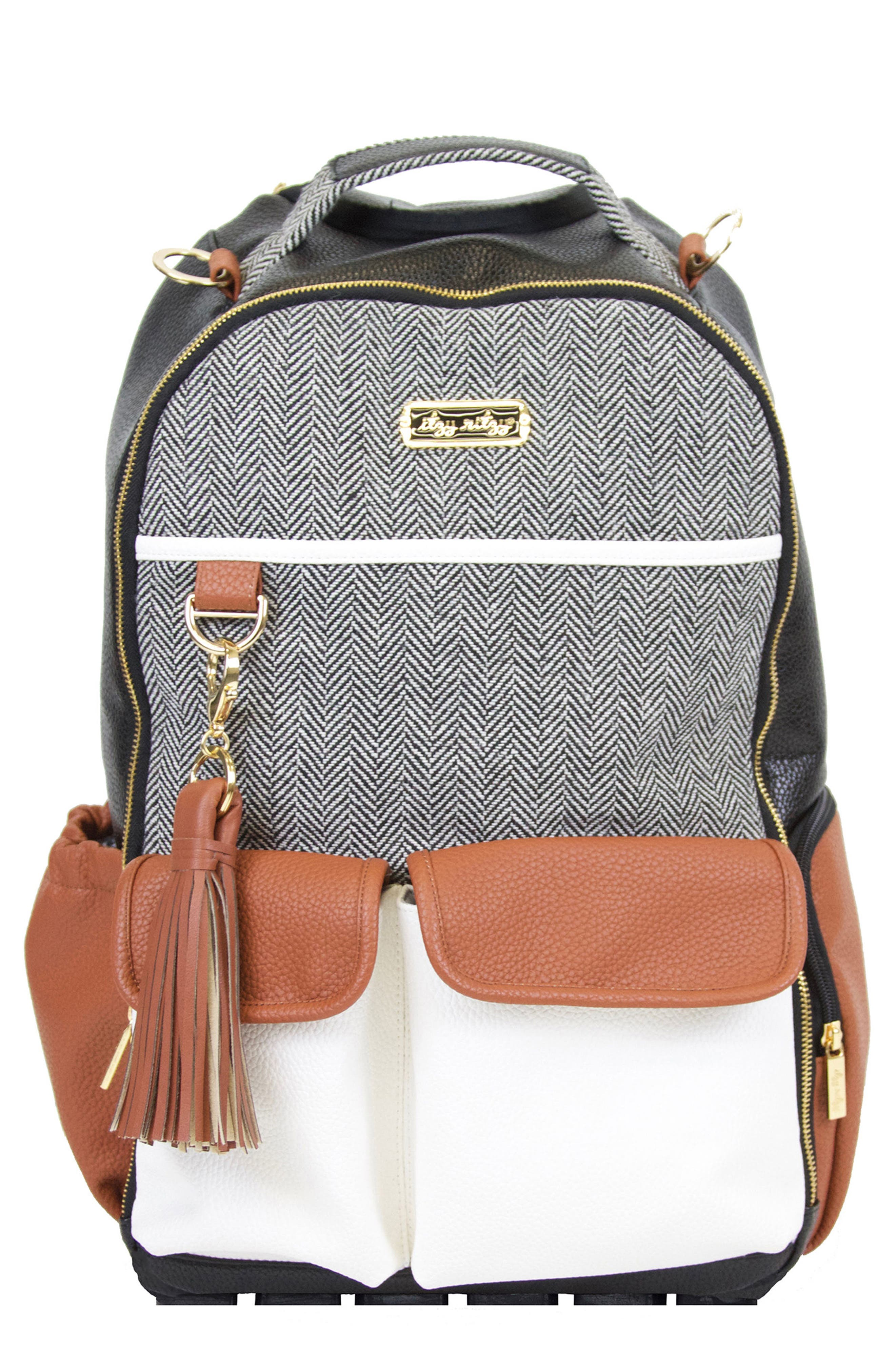 Main Image - Itzy Ritzy Diaper Bag Backpack