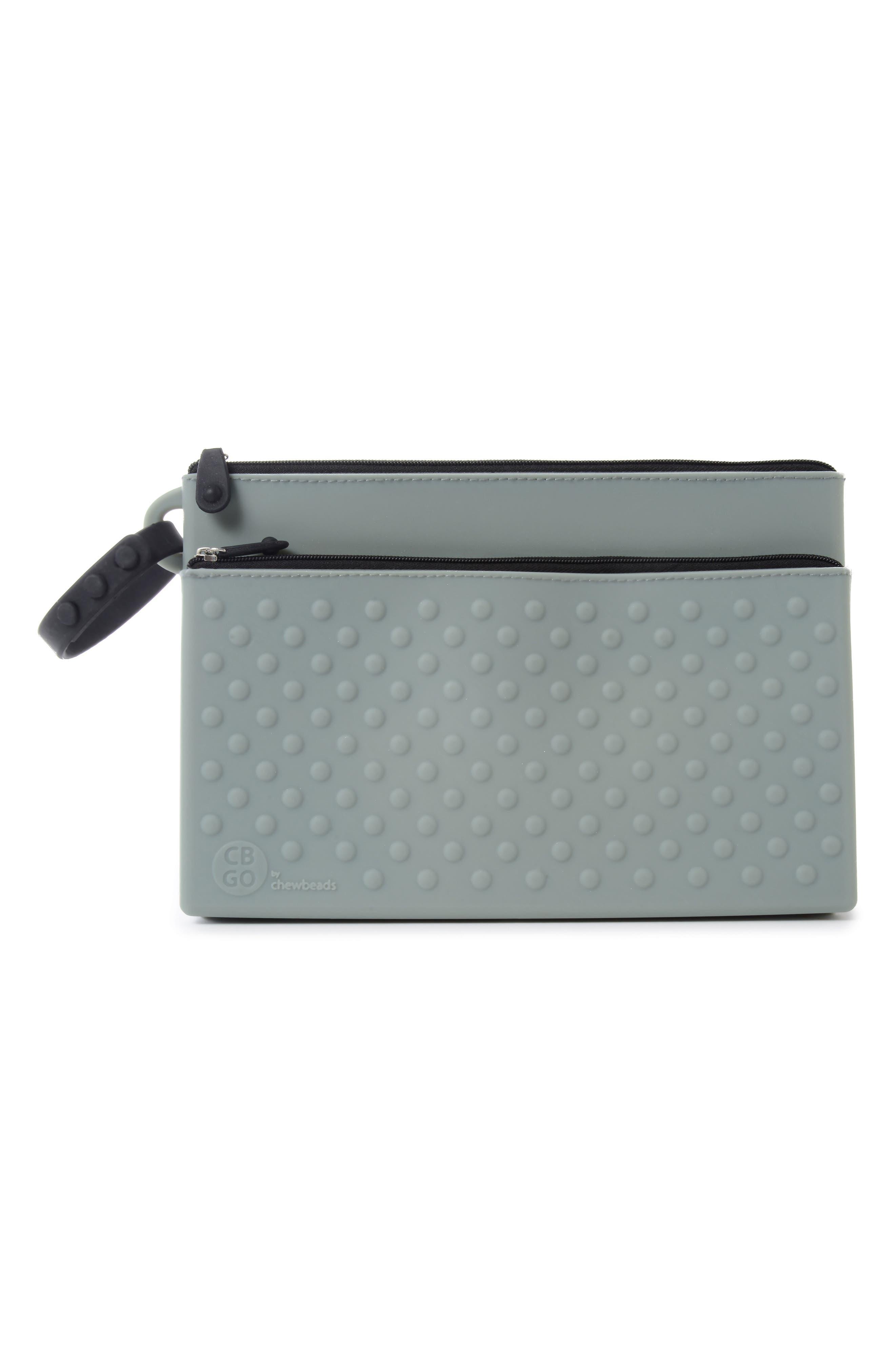 Silicone Wipes Case,                         Main,                         color, Grey