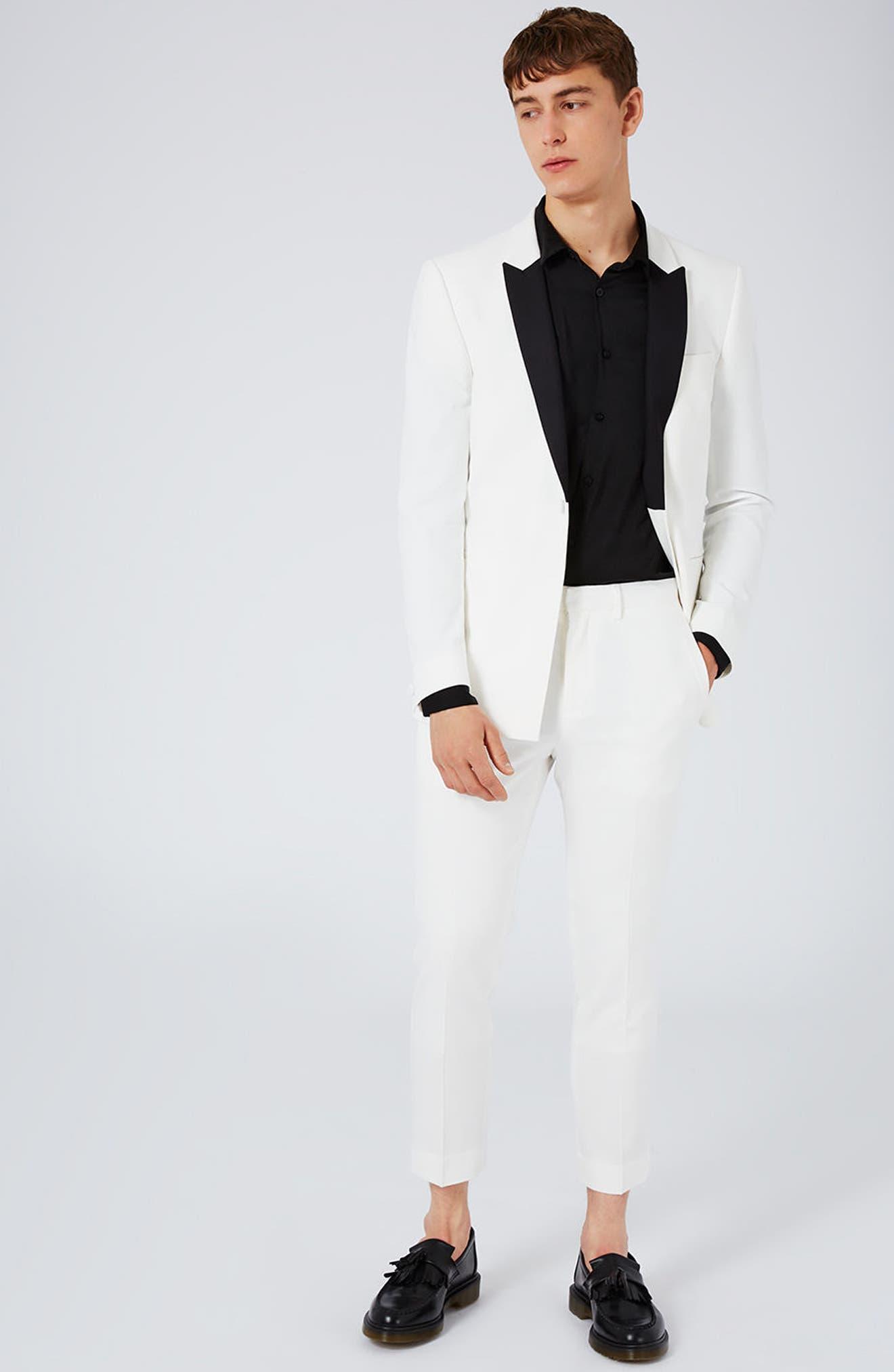 Topman Skinny Fit Tuxedo