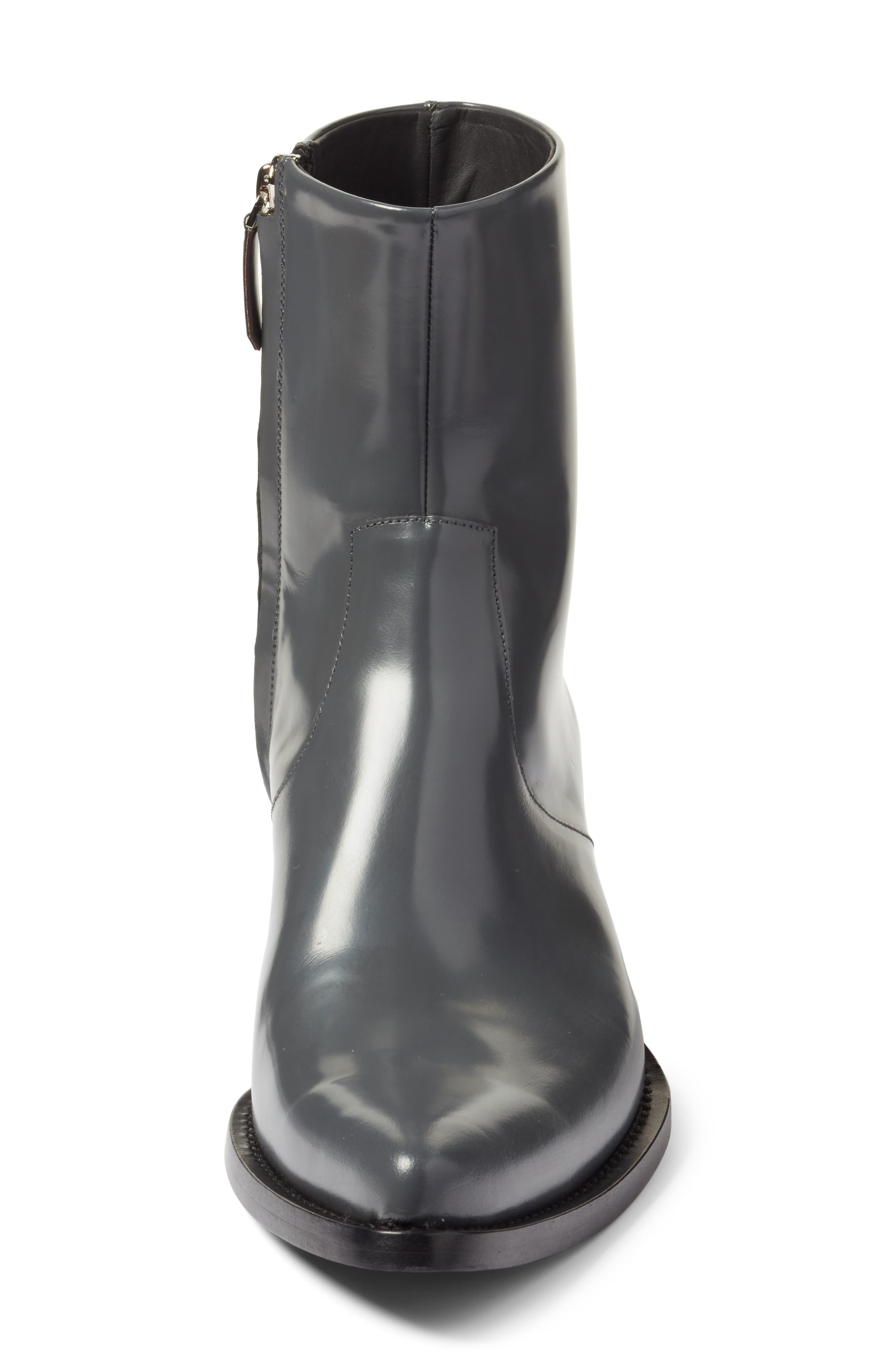 Tex Boot,                             Alternate thumbnail 4, color,                             Anthracite Leather