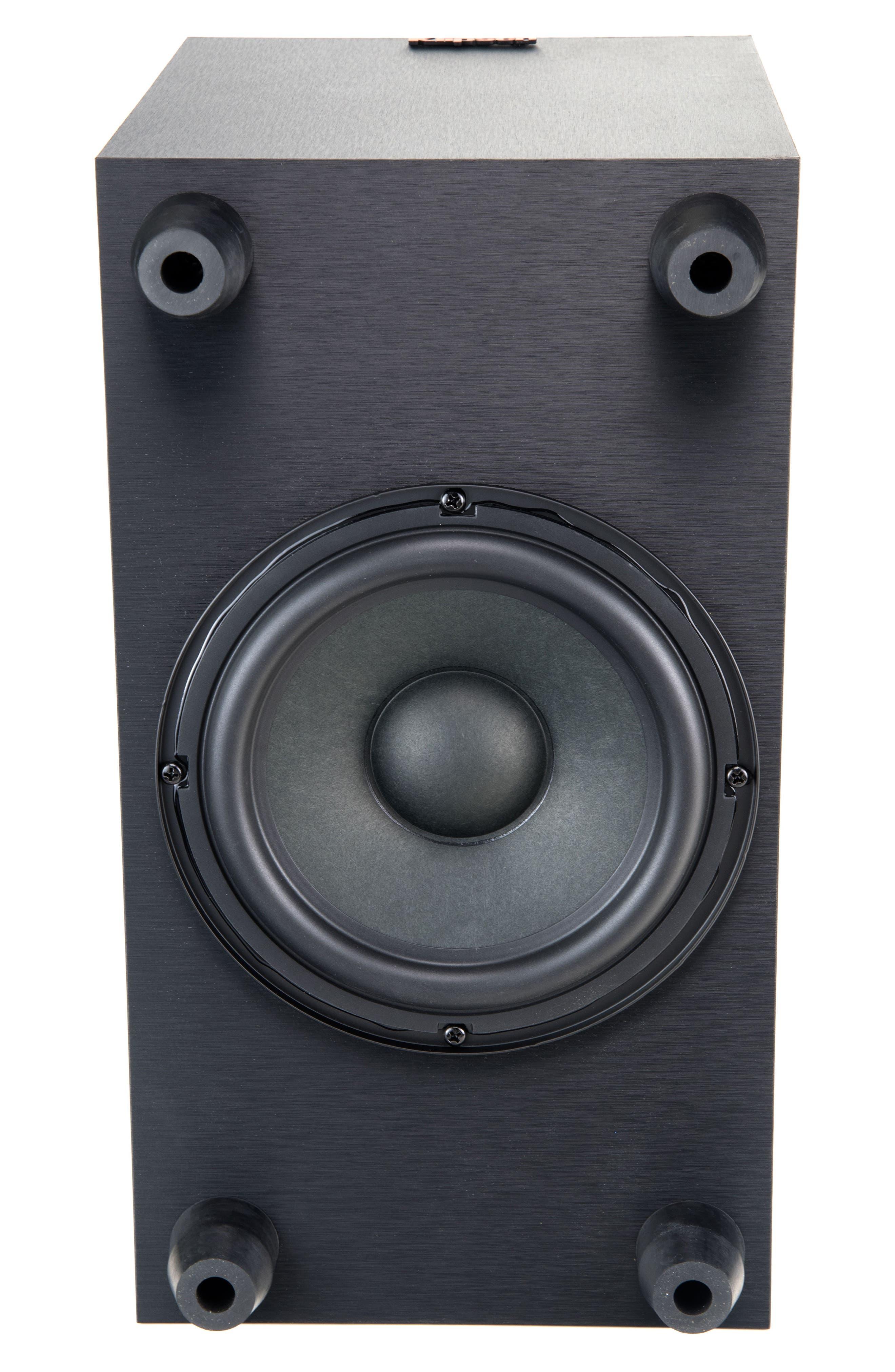 RSB-6 Soundbar & Subwoofer,                             Alternate thumbnail 4, color,                             Black