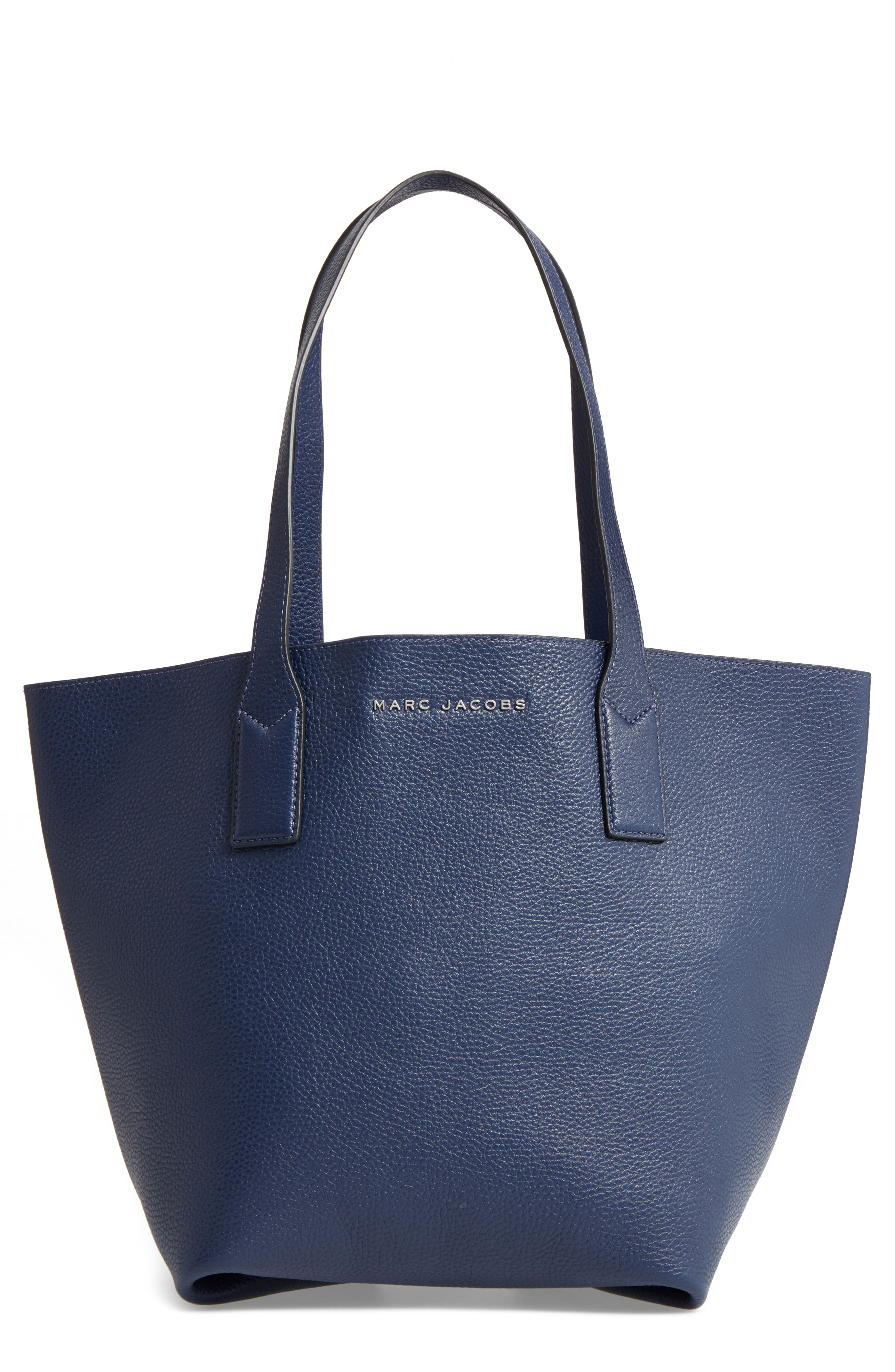 MARC JACOBS 'Wingman' Leather Shopping Tote