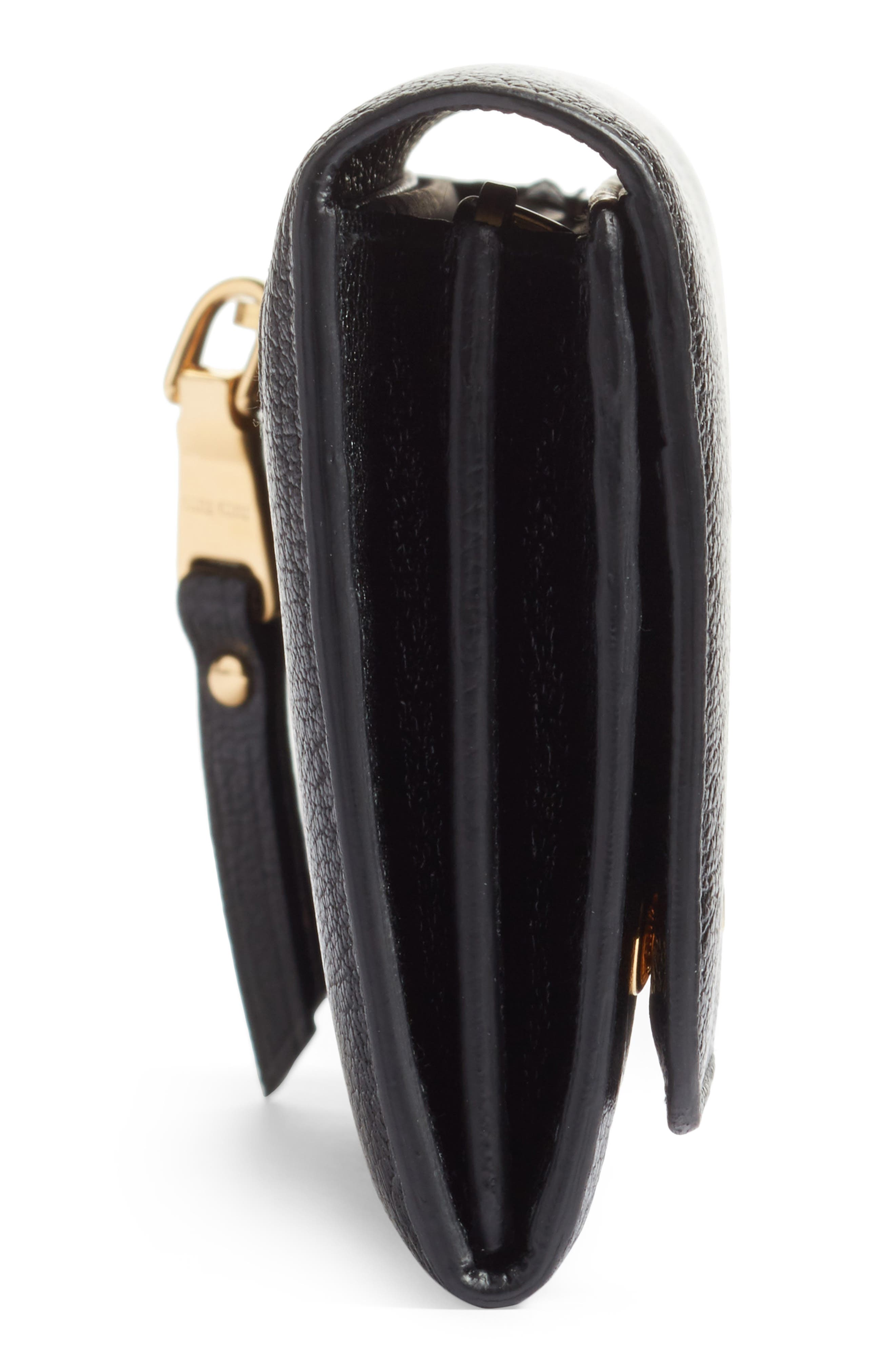 Alternate Image 5  - Miu Miu Madras Leather Continental Wallet