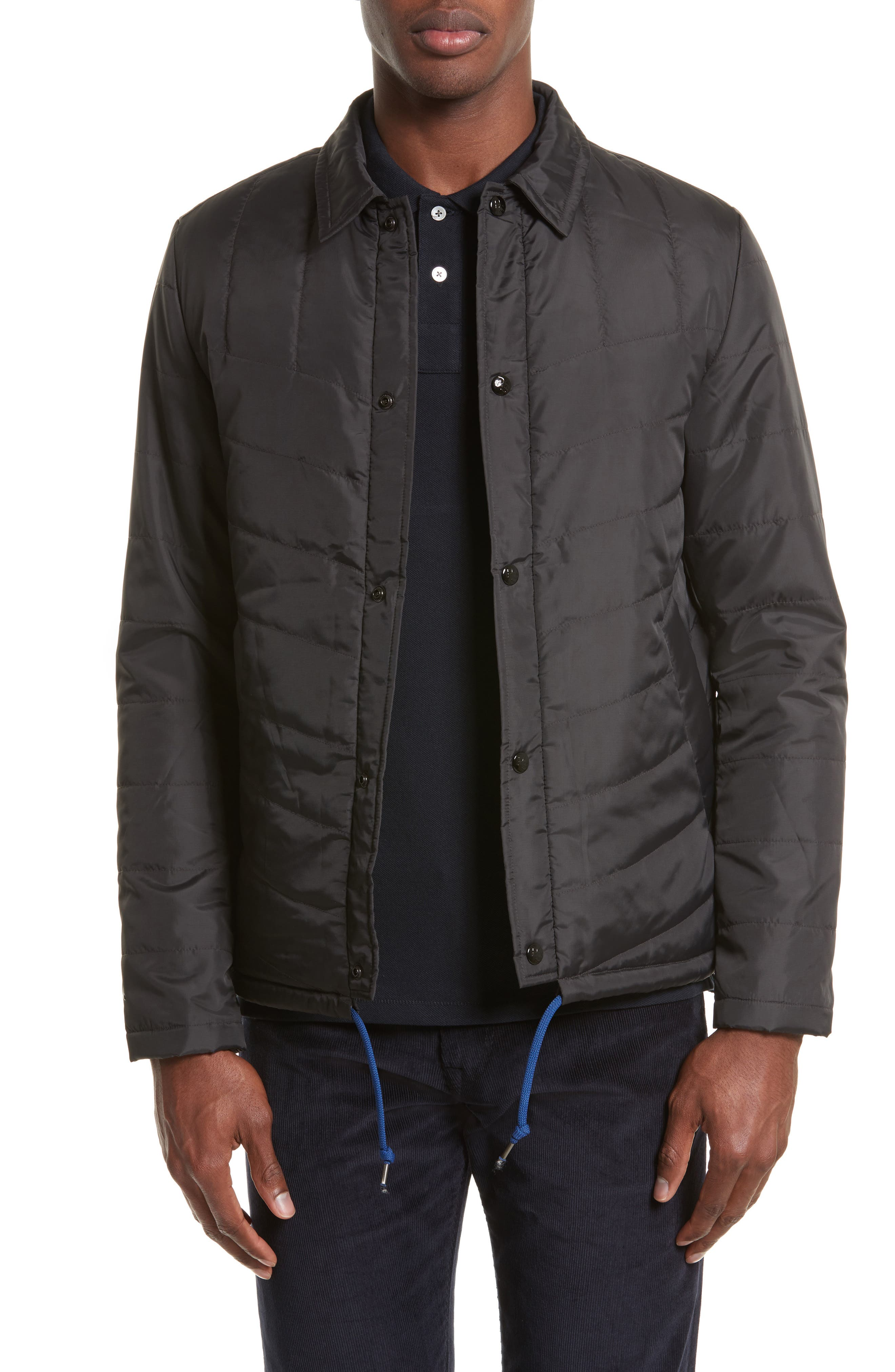 Main Image - PS Paul Smith Quilted Packable Jacket