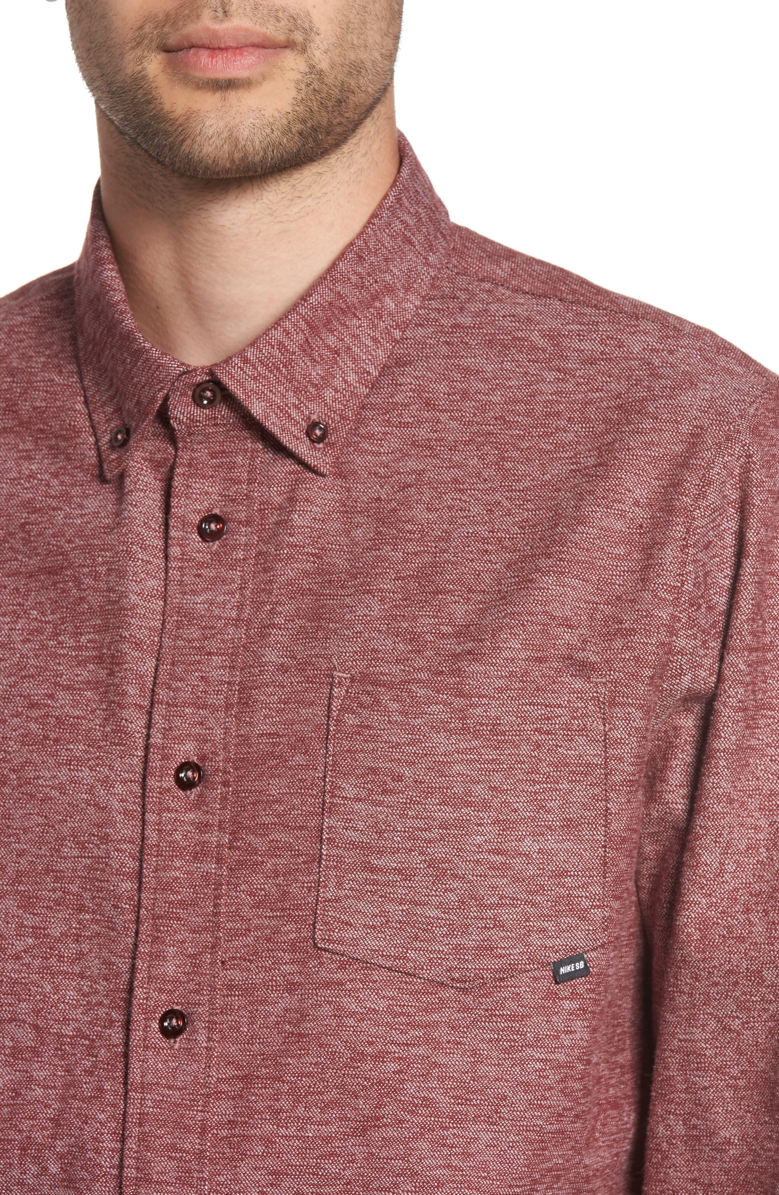 Alternate Image 4  - Nike SB Holgate Flex Shirt