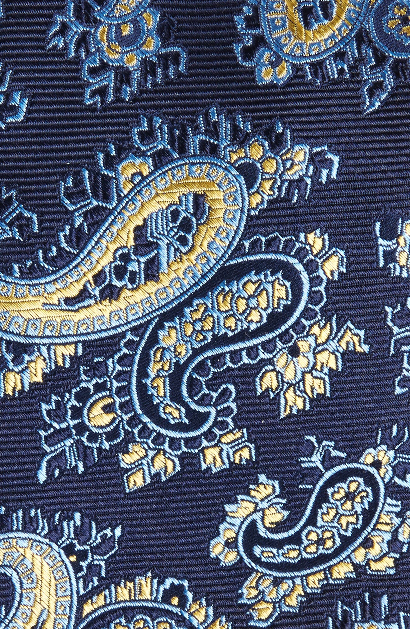 Paisley Silk Tie,                             Alternate thumbnail 2, color,                             Straw