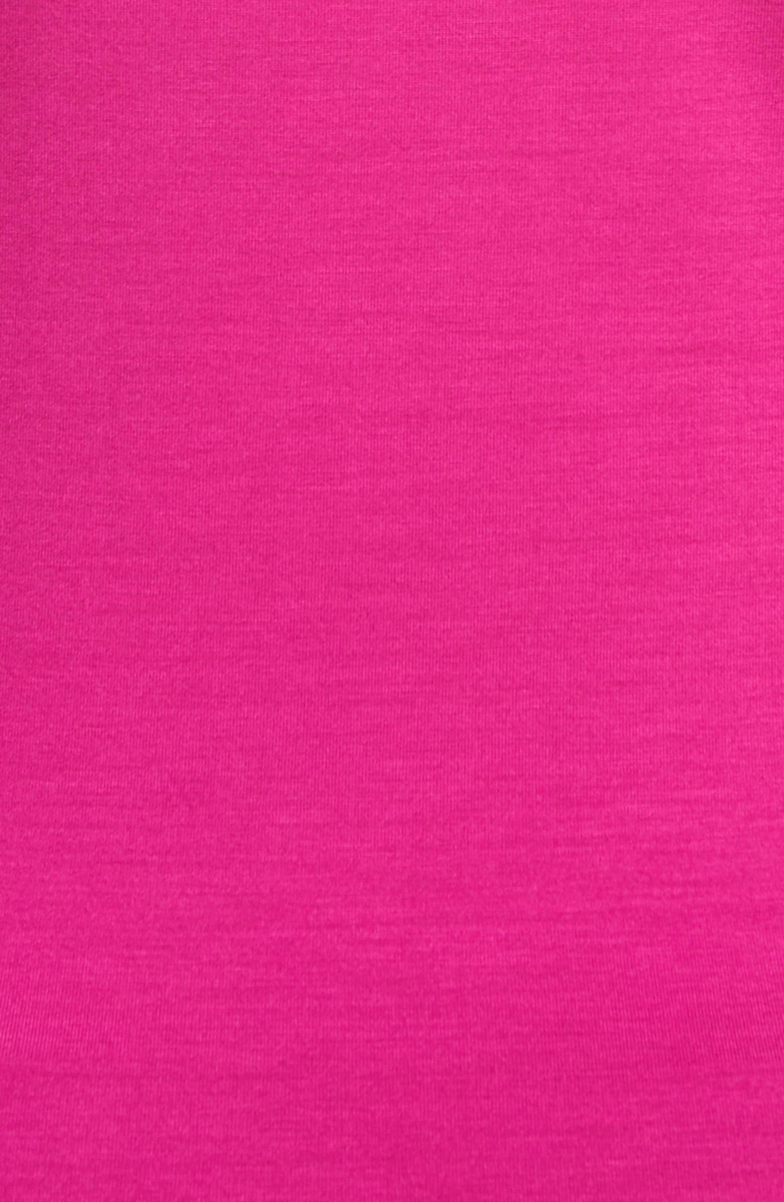 Alternate Image 3  - Armani Collezioni Stretch Jersey Top