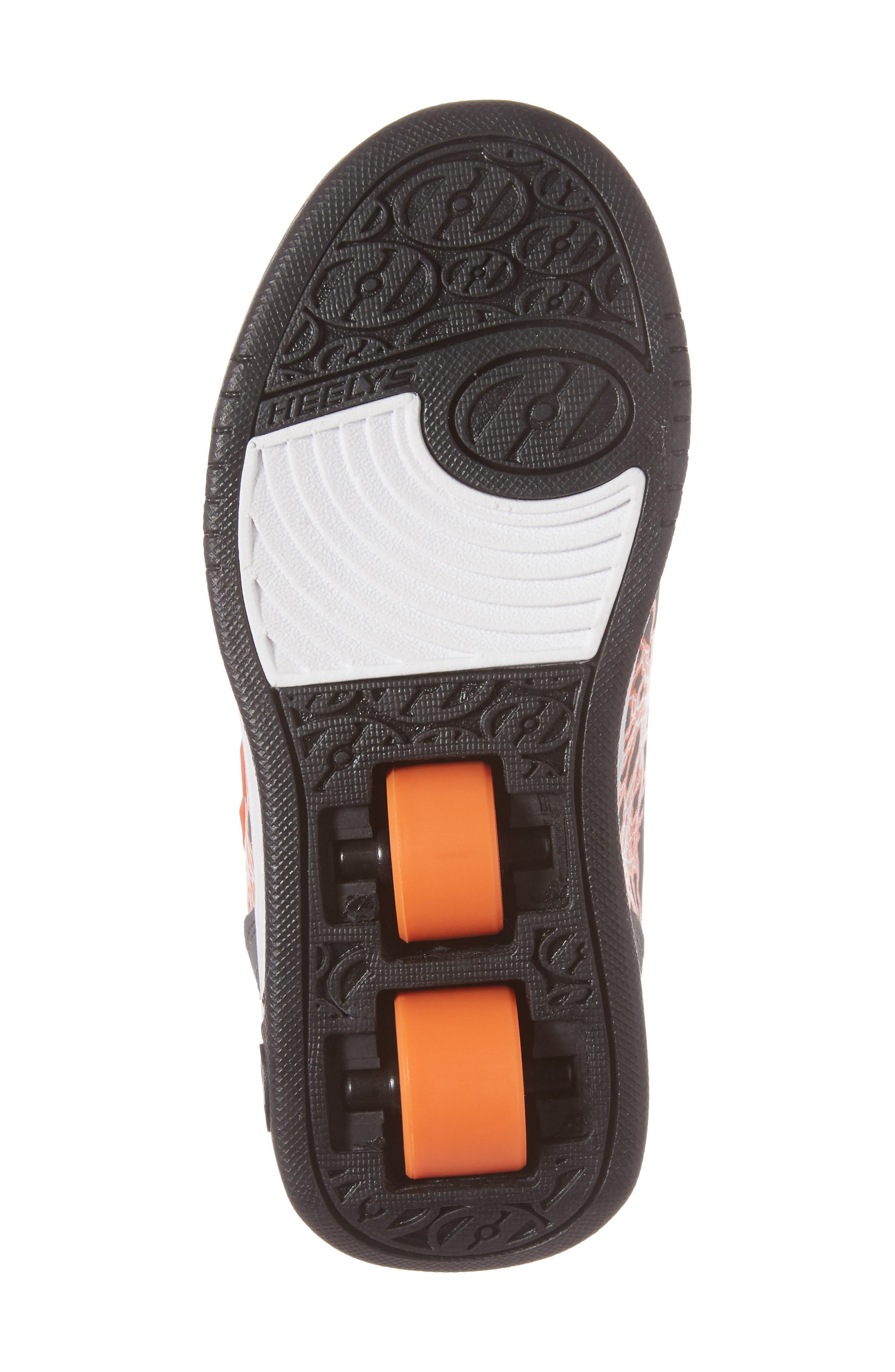 'Dual Up X2' Sneaker,                             Alternate thumbnail 6, color,                             Charcoal/ Orange/ Electricity