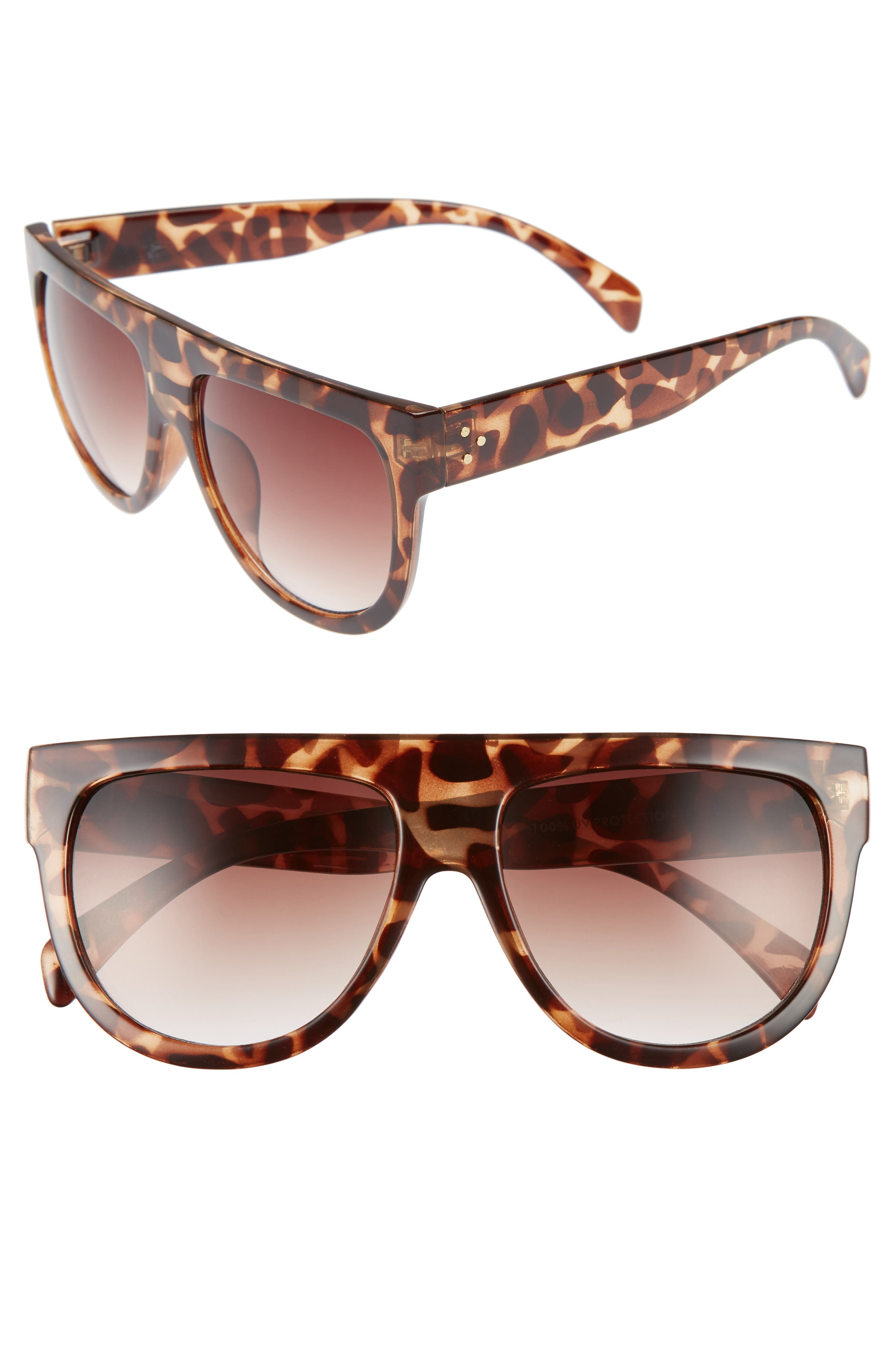 Main Image - BP. Lunette 40mm Shield Sunglasses