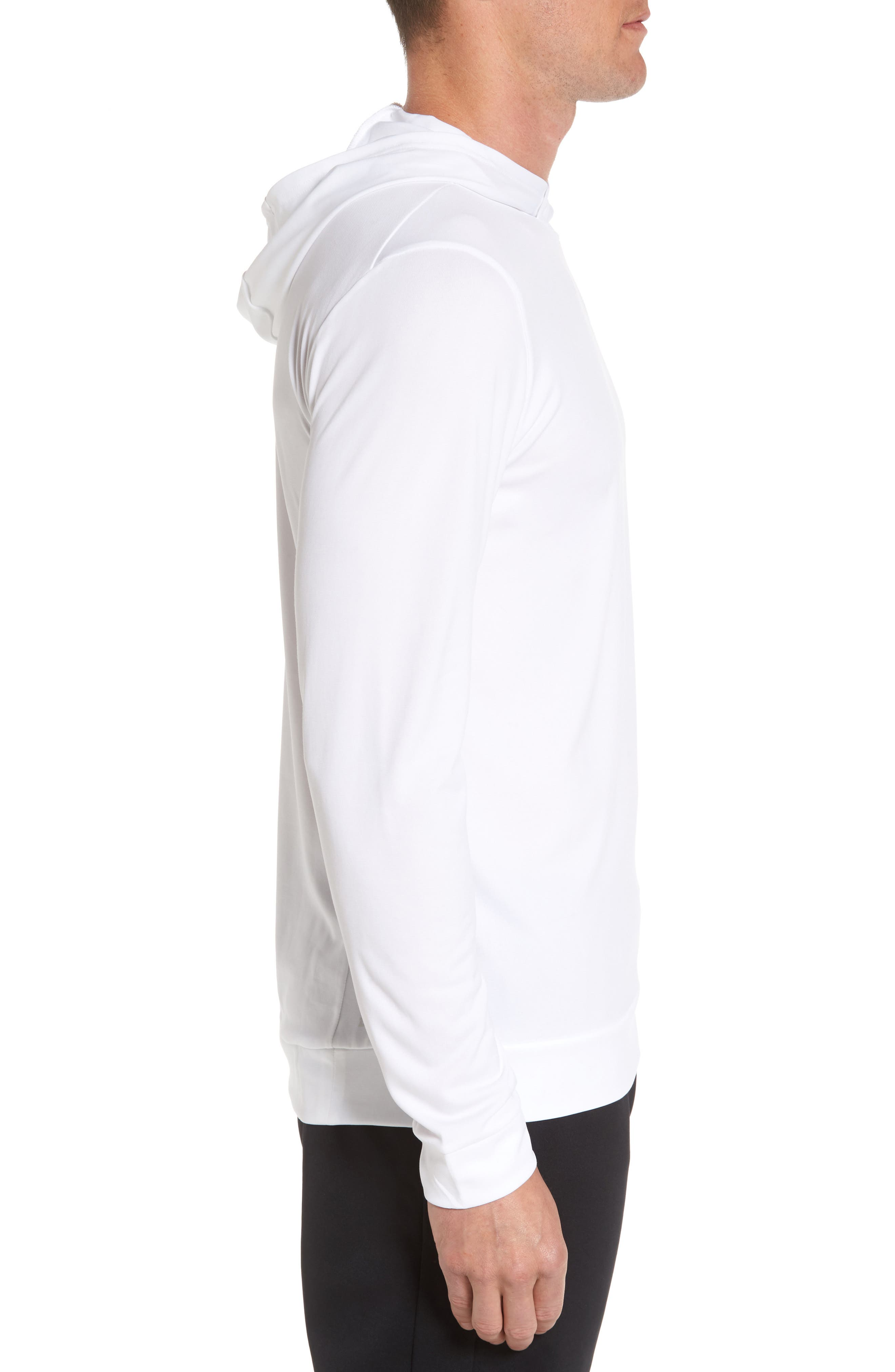 Alternate Image 3  - Nike Hyper Dry Regular Fit Training Hoodie