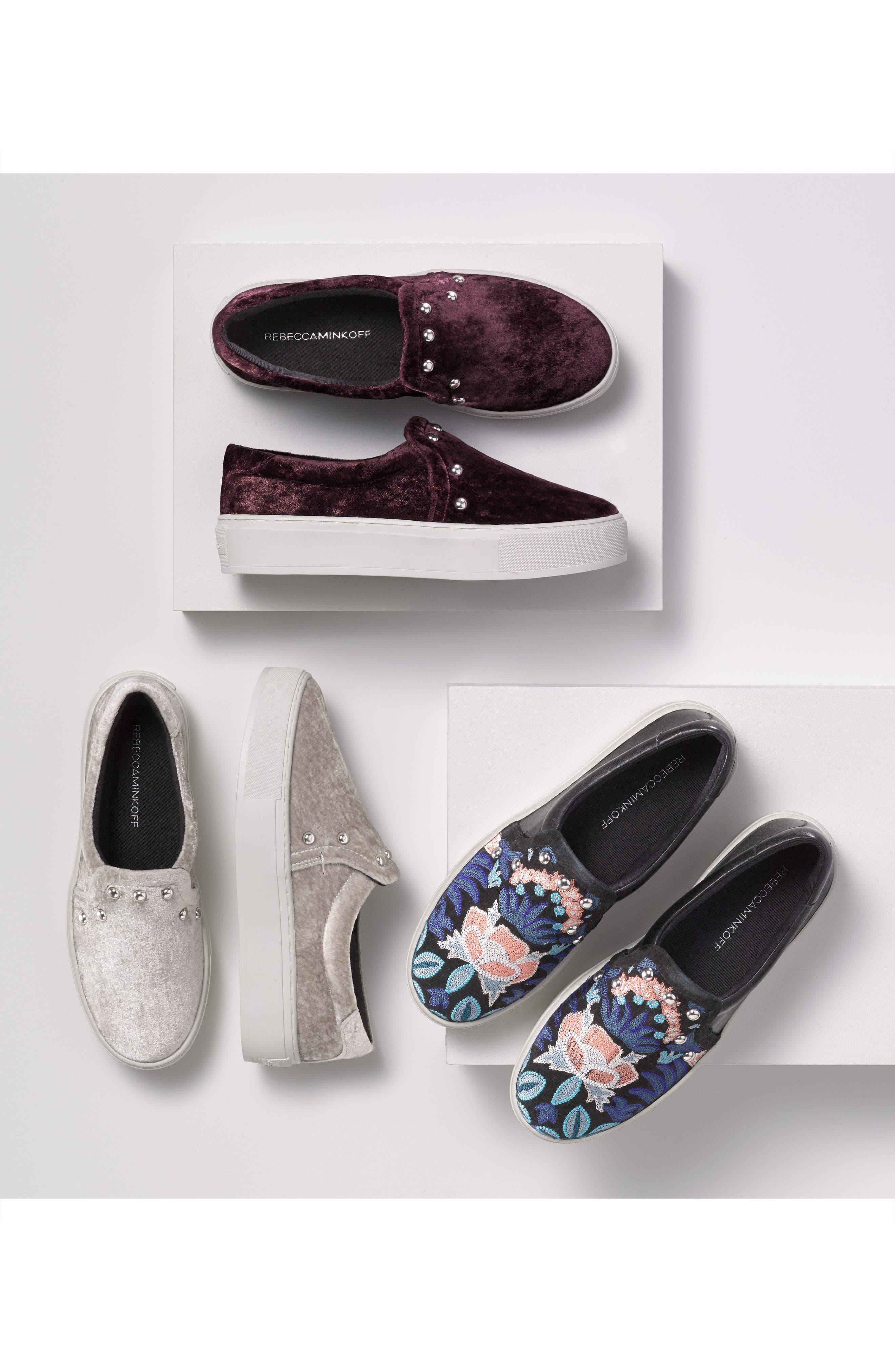 Alternate Image 7  - Rebecca Minkoff Noelle Embellished Slip-On Platform Sneaker (Women)