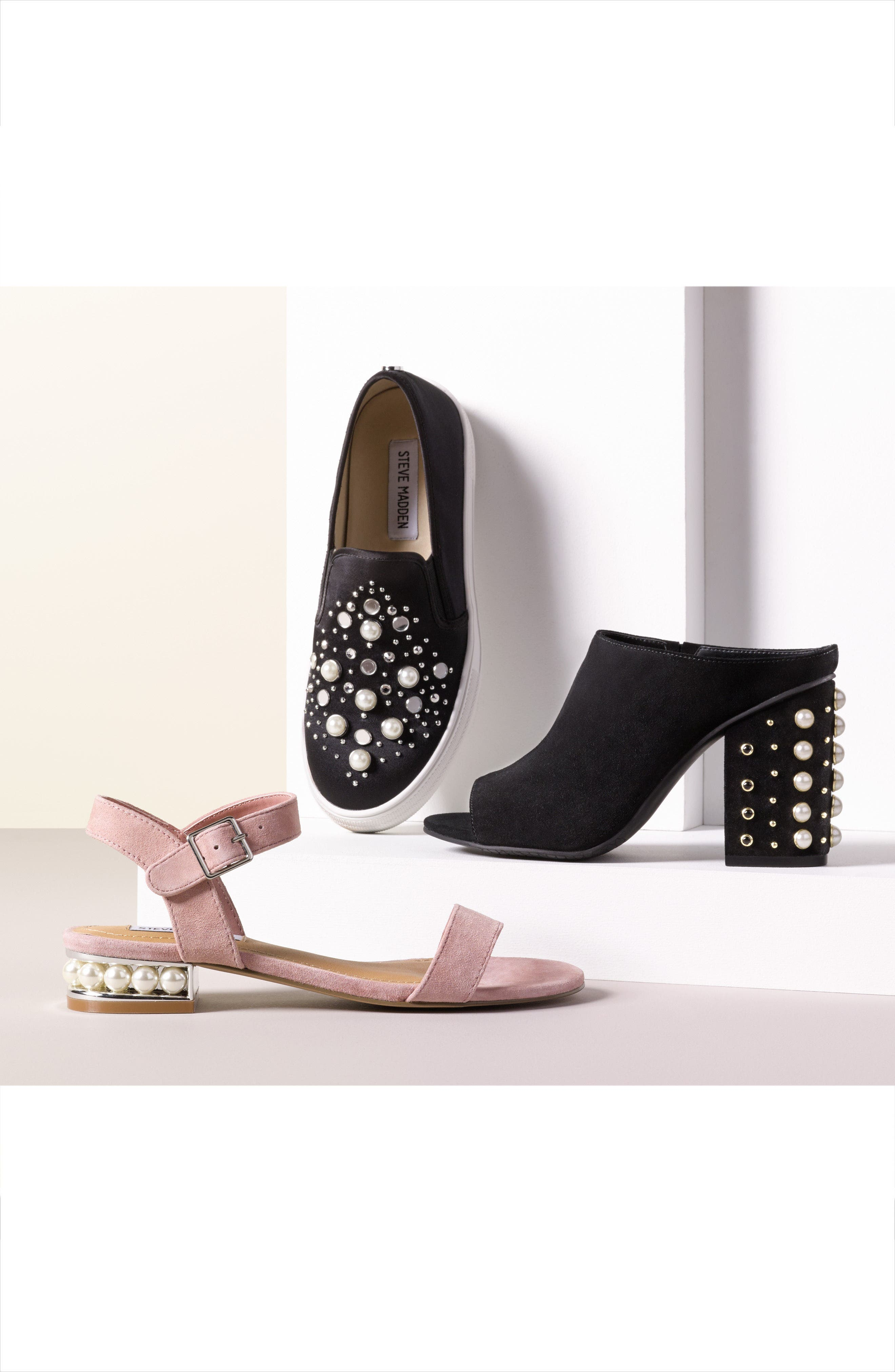 Alternate Image 7  - Steve Madden Embellished Sandal (Women)