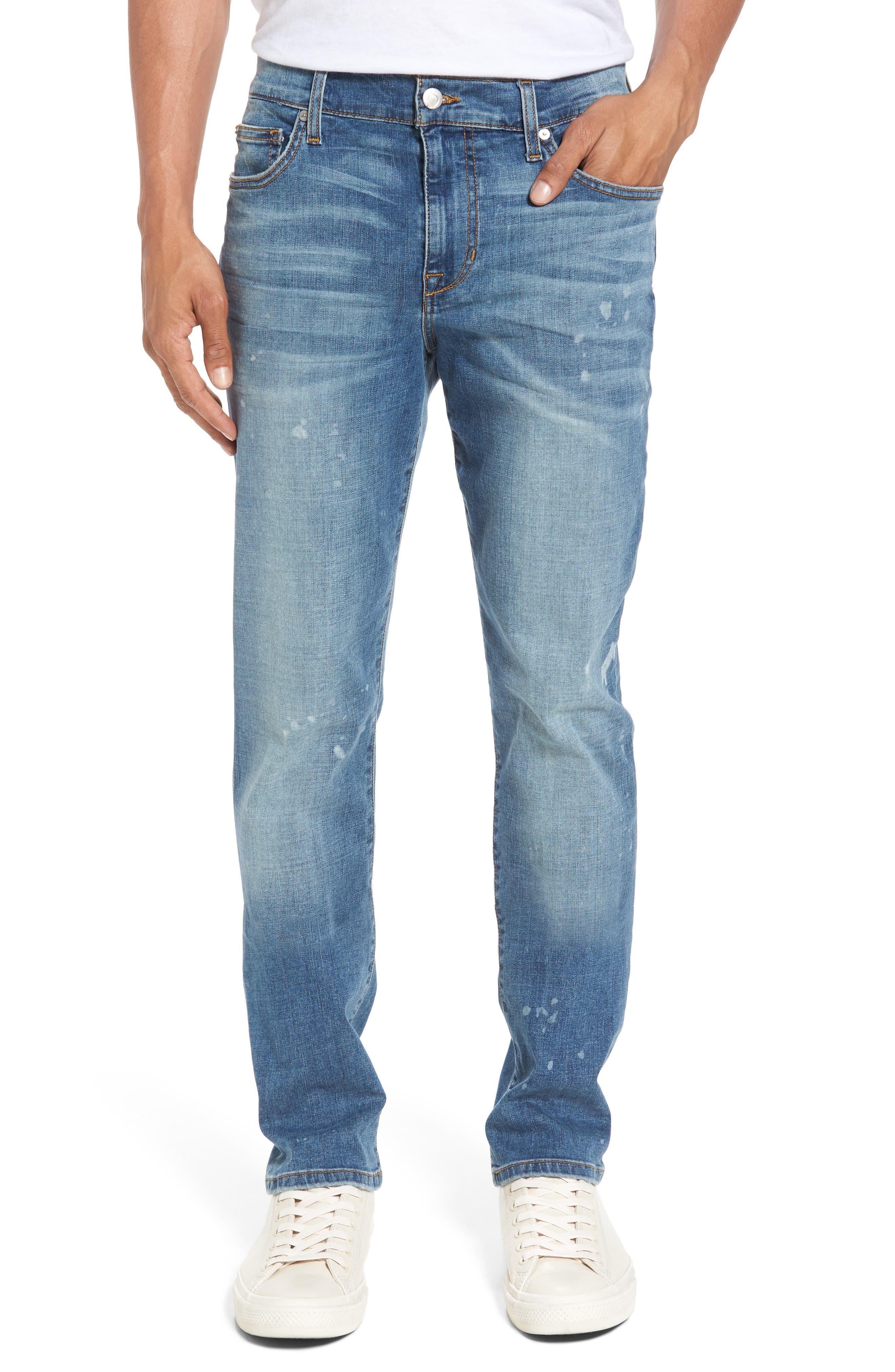 Joe's Slim Fit Jeans (Bleached Spot)