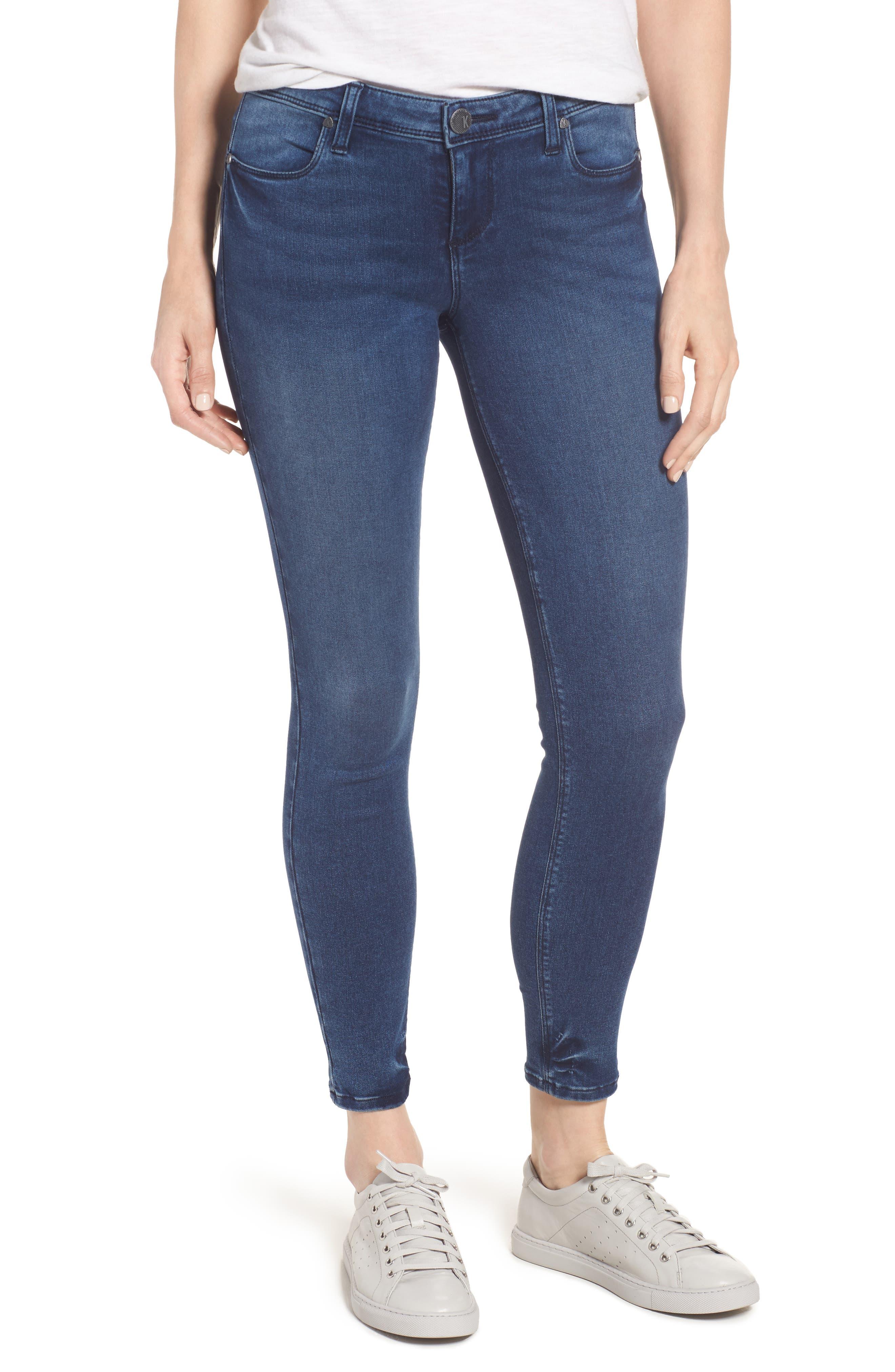 Alternate Image 1 Selected - KUT from the Kloth Jennifer Ultra Skinny Jeans (Fashionable)