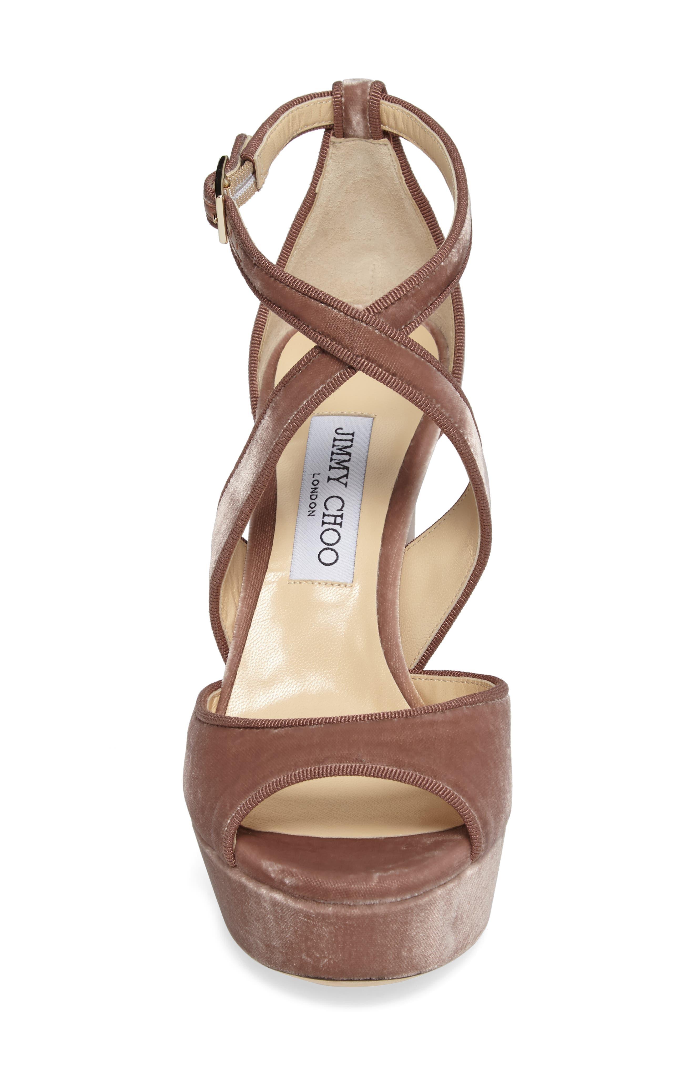 Alternate Image 4  - Jimmy Choo April Platform Sandal (Women)
