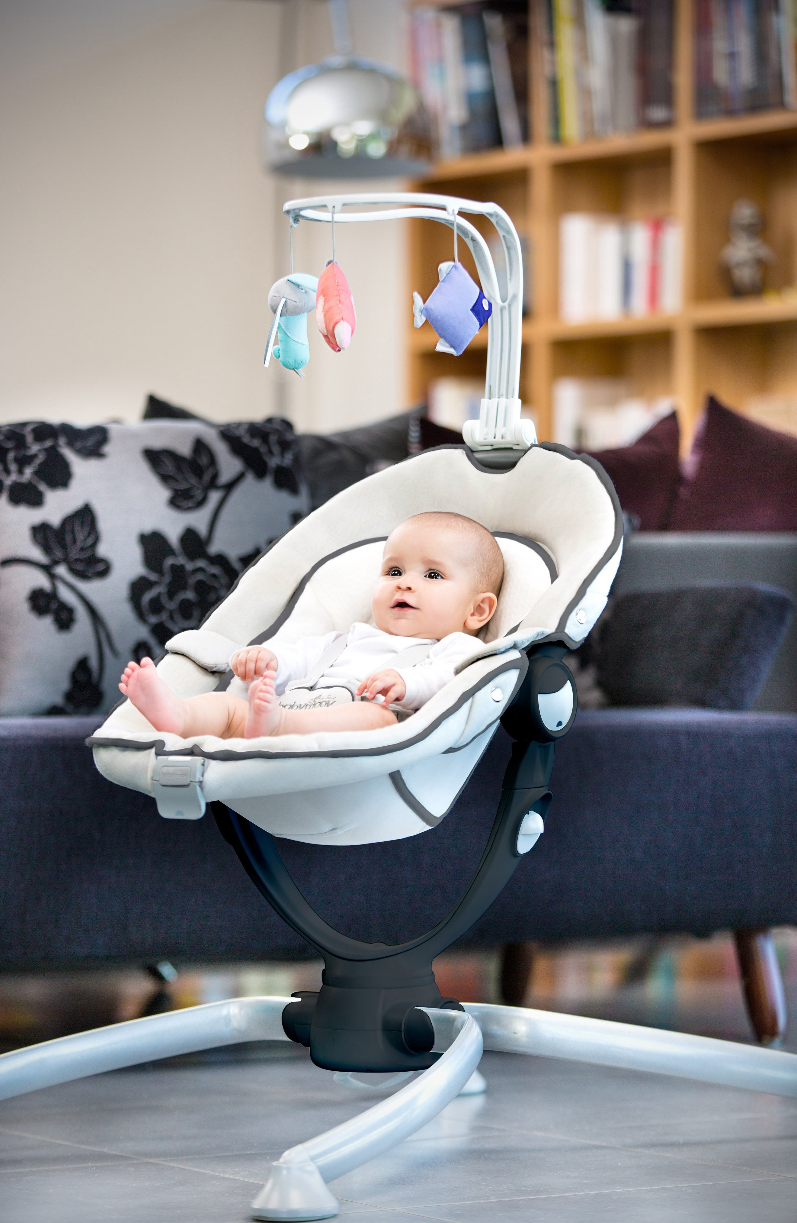 Swoon Up Baby Bouncer Seat,                             Alternate thumbnail 5, color,                             Alu