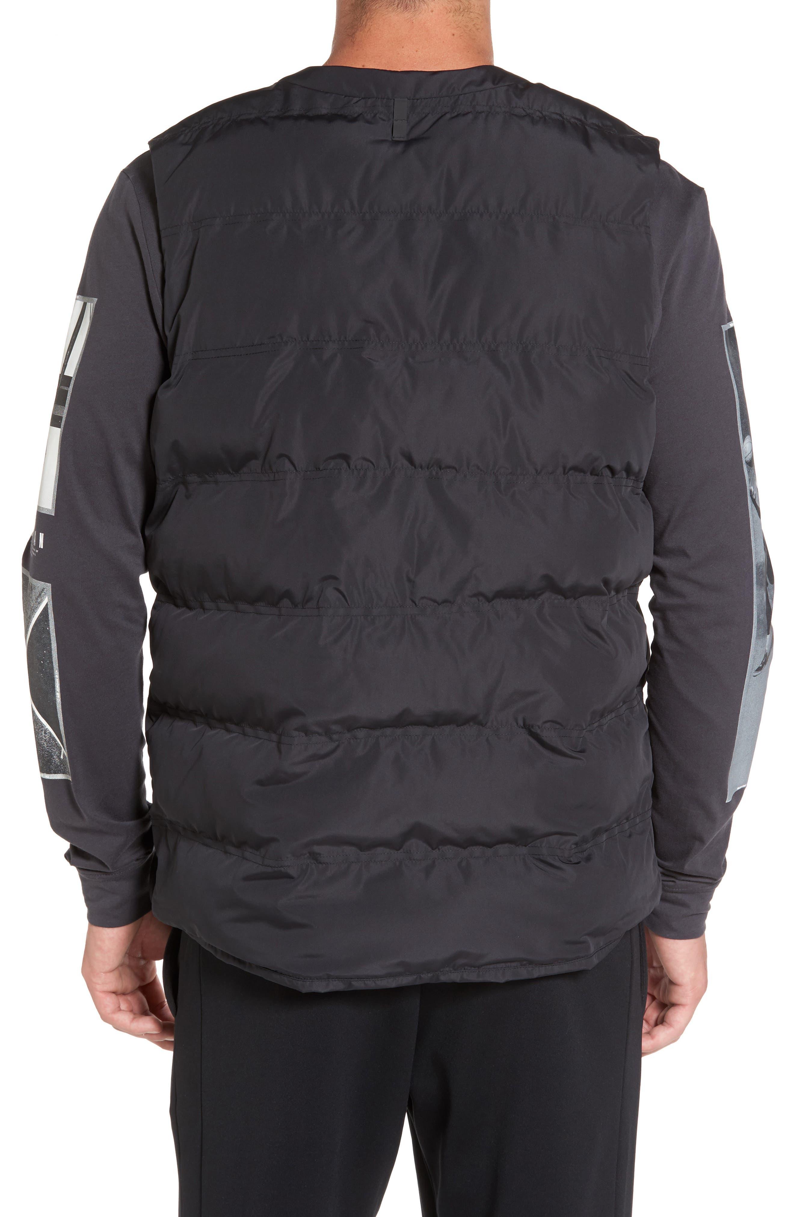 23 Tech Vest,                             Alternate thumbnail 2, color,                             Black