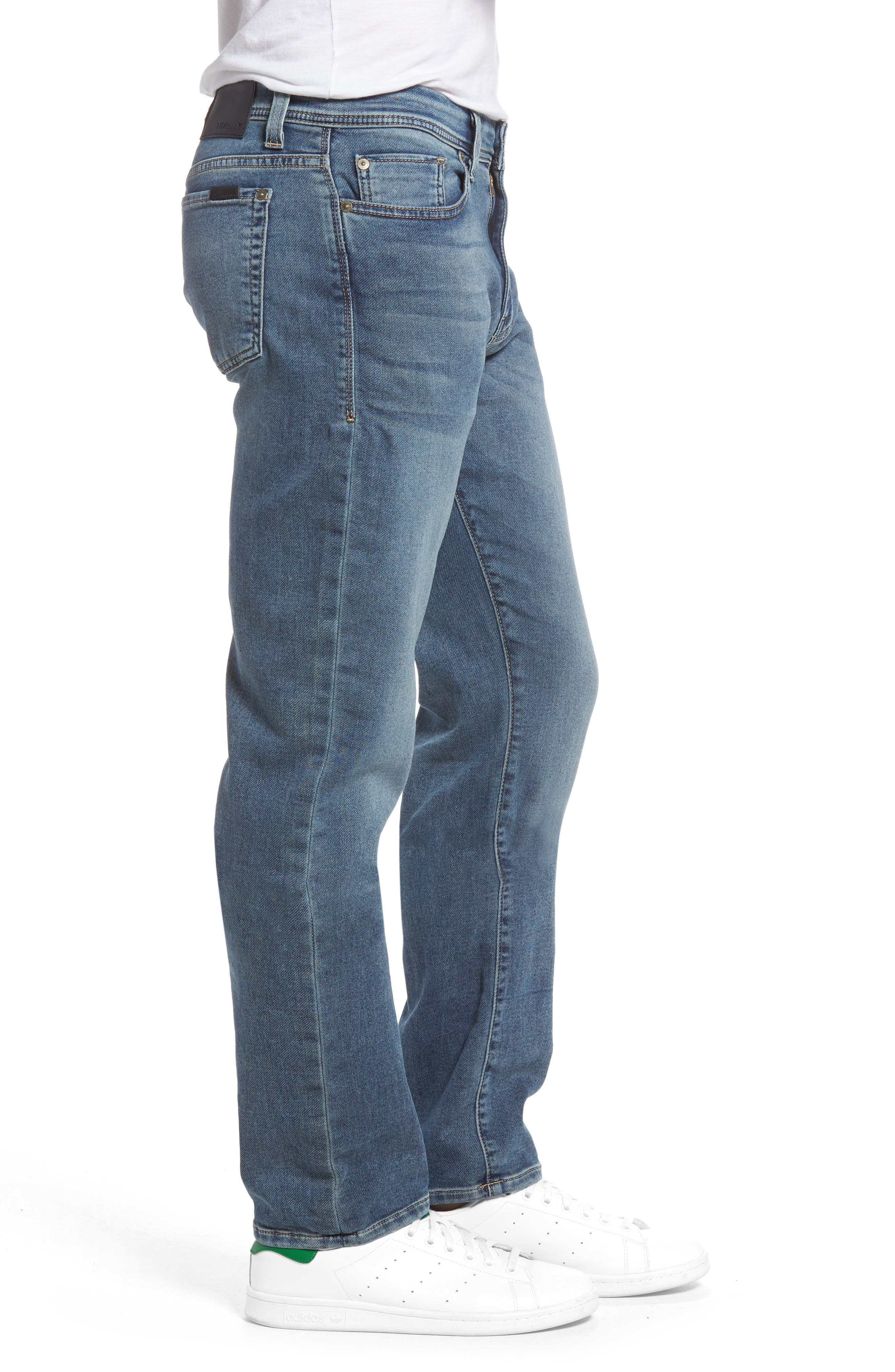 Jimmy Slim Straight Leg Jeans,                             Alternate thumbnail 3, color,                             Oxy Vox Vintage