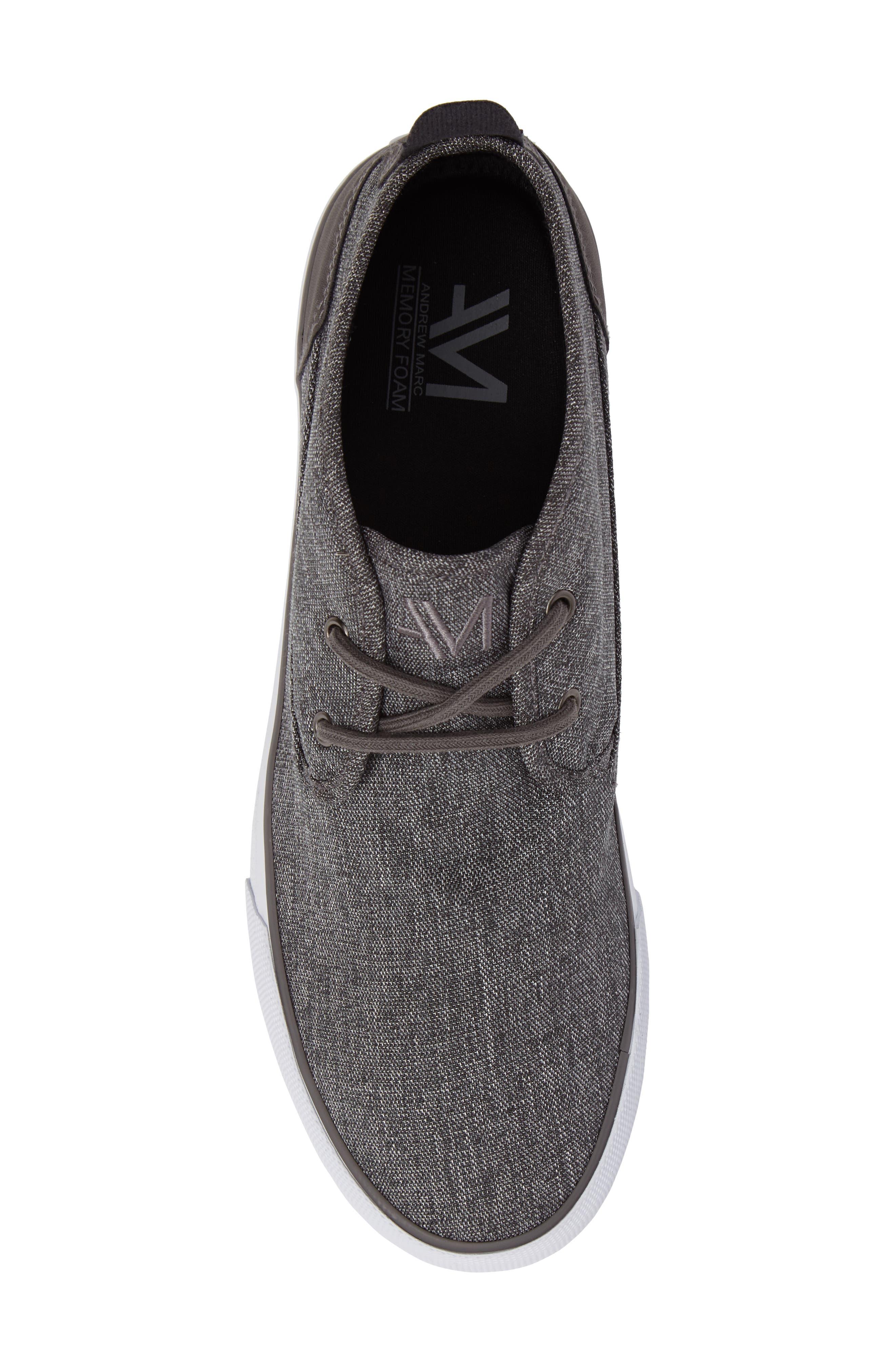 Reade Chukka Sneaker,                             Alternate thumbnail 5, color,                             Charcoal/Dk Charcoal/White