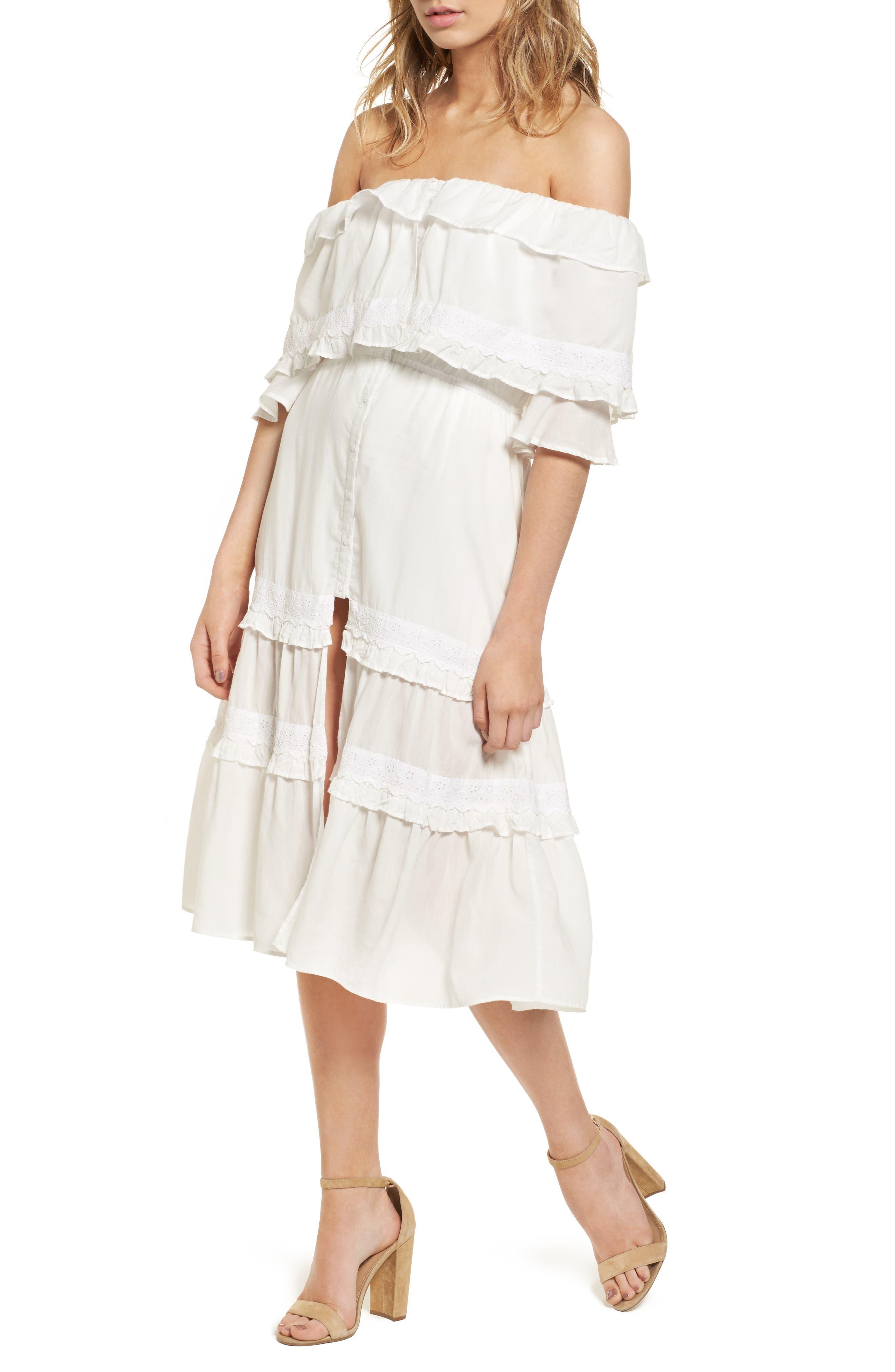Main Image - Majorelle Gemini Off the Shoulder Dress