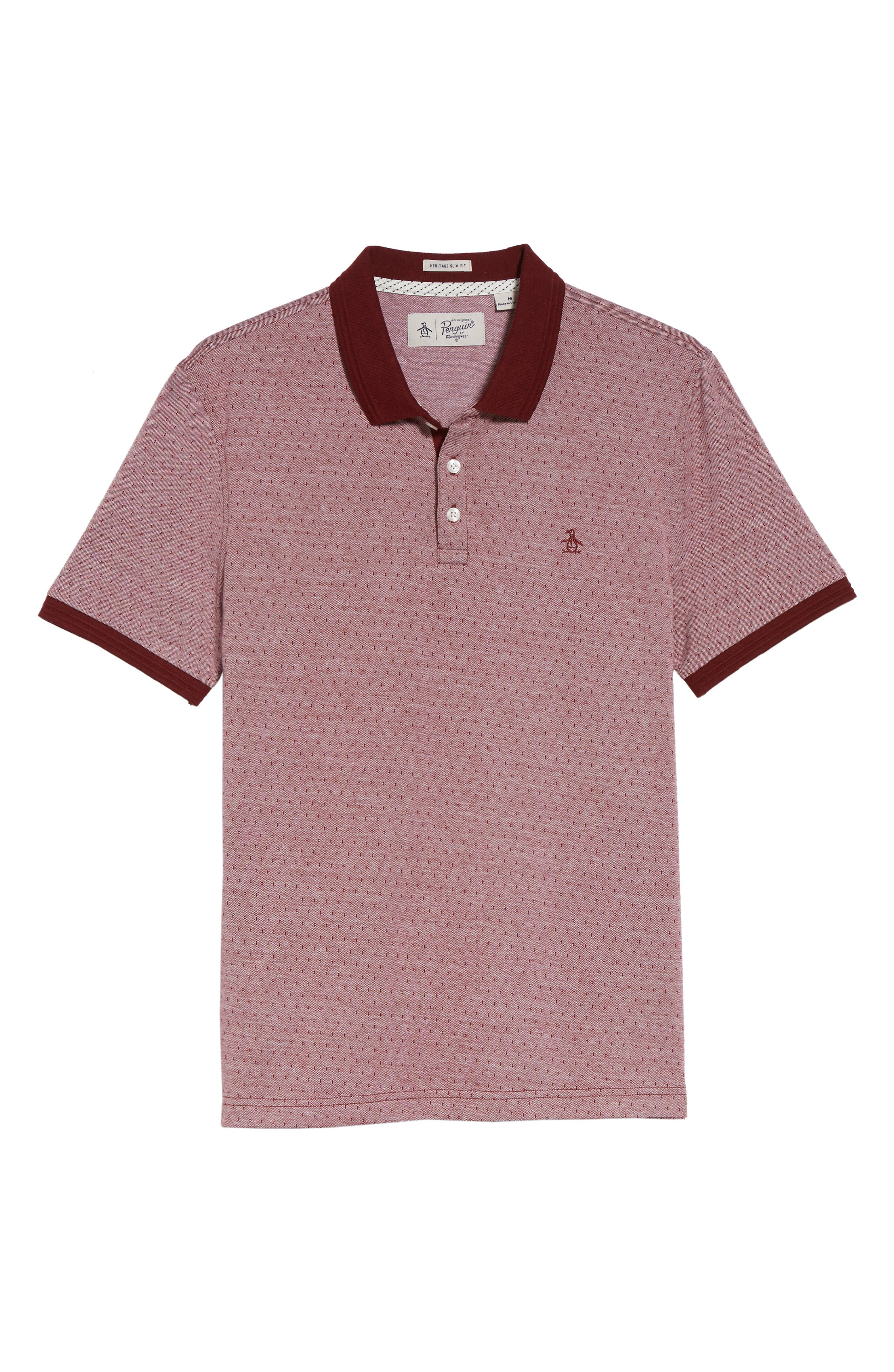 Alternate Image 6  - Original Penguin Bird's Eye Dobby Polo