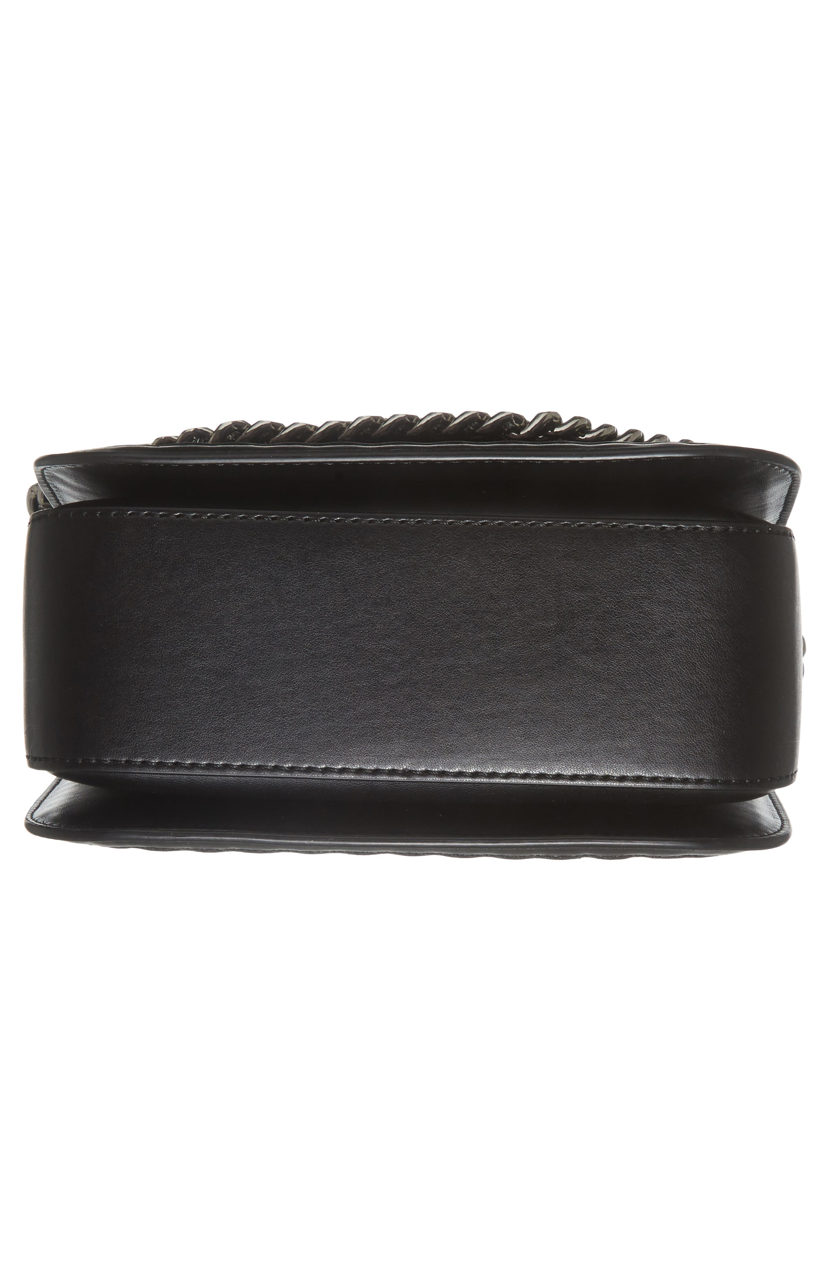 Alternate Image 5  - Stella McCartney Falabella Box Woven Faux Leather Shoulder Bag