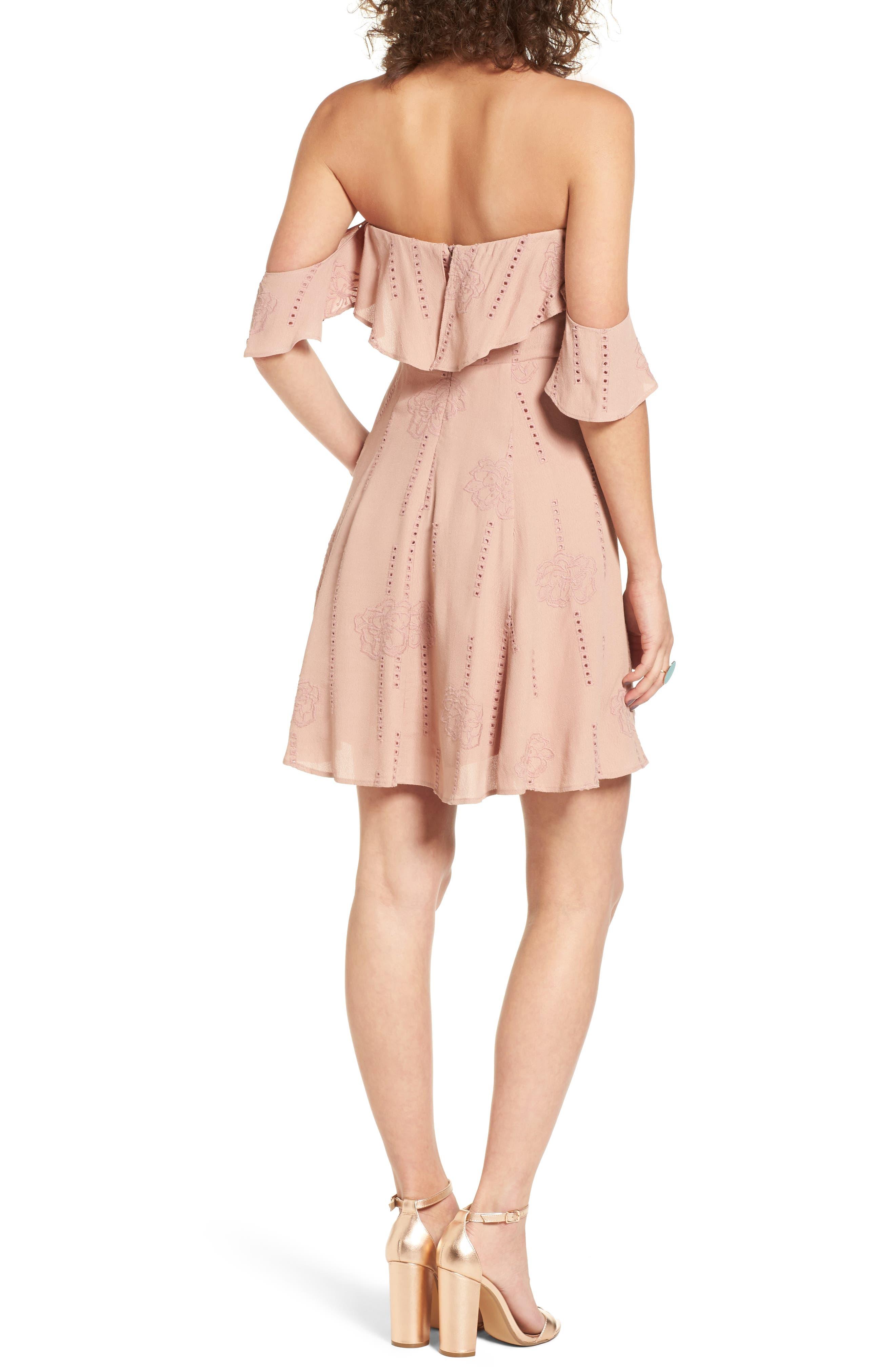 Alternate Image 3  - ASTR the Label Sabina A-Line Dress