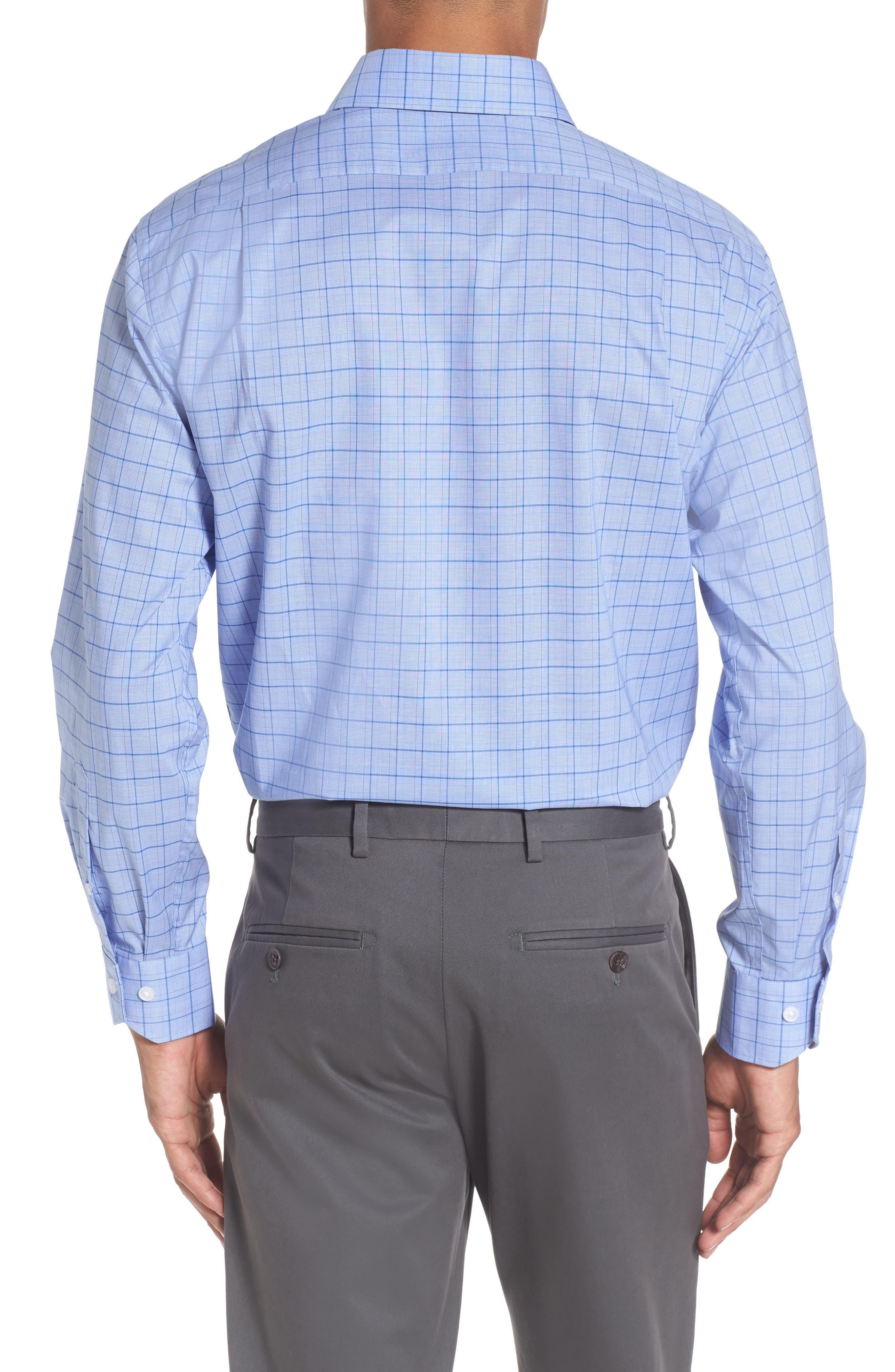 Alternate Image 2  - Lorenzo Uomo Trim Fit Plaid Dress Shirt