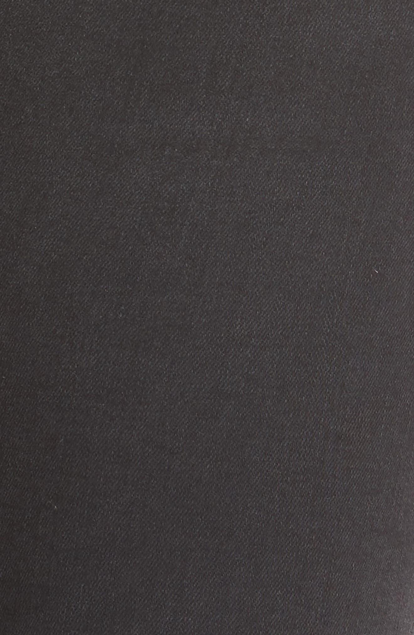 Alternate Image 6  - AG The Farrah High Waist Ankle Skinny Jeans (Thirteen)