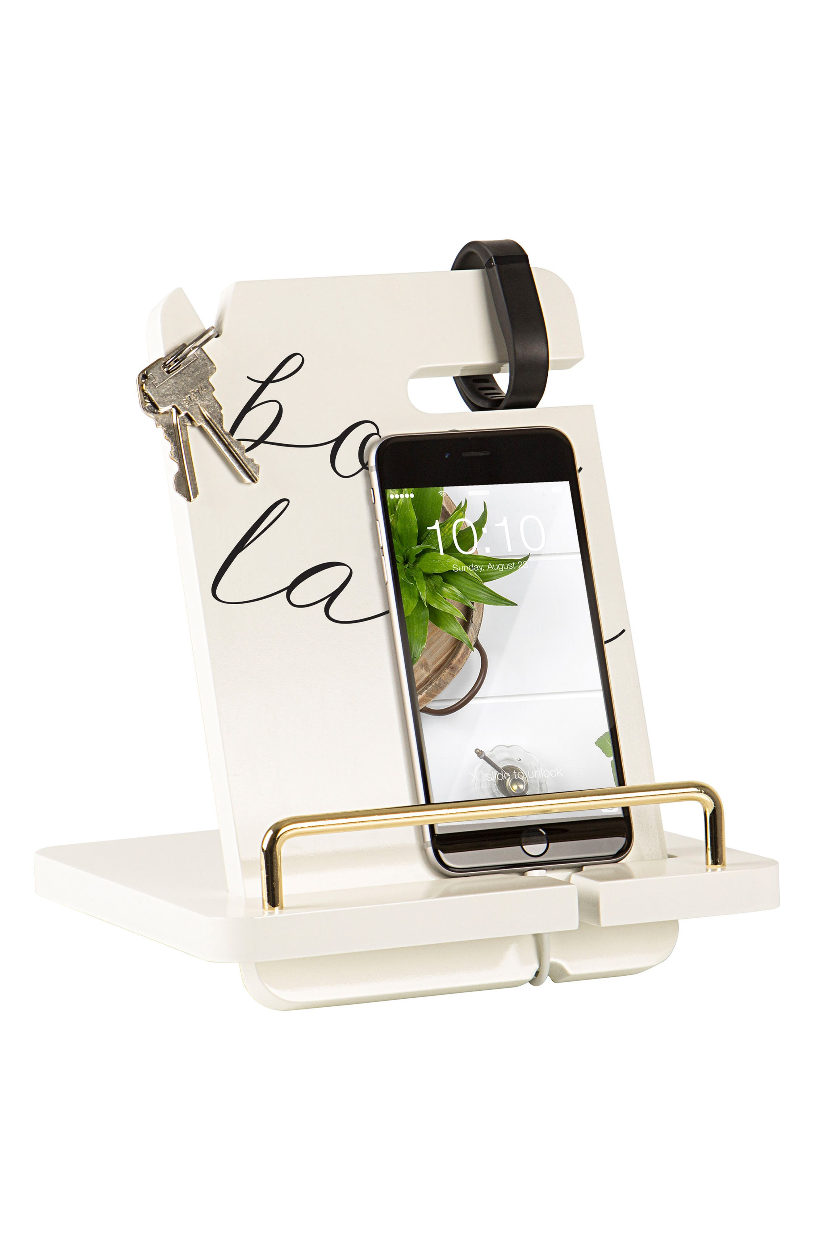 Boss Lady Lacquer Docking Station,                             Alternate thumbnail 5, color,                             White