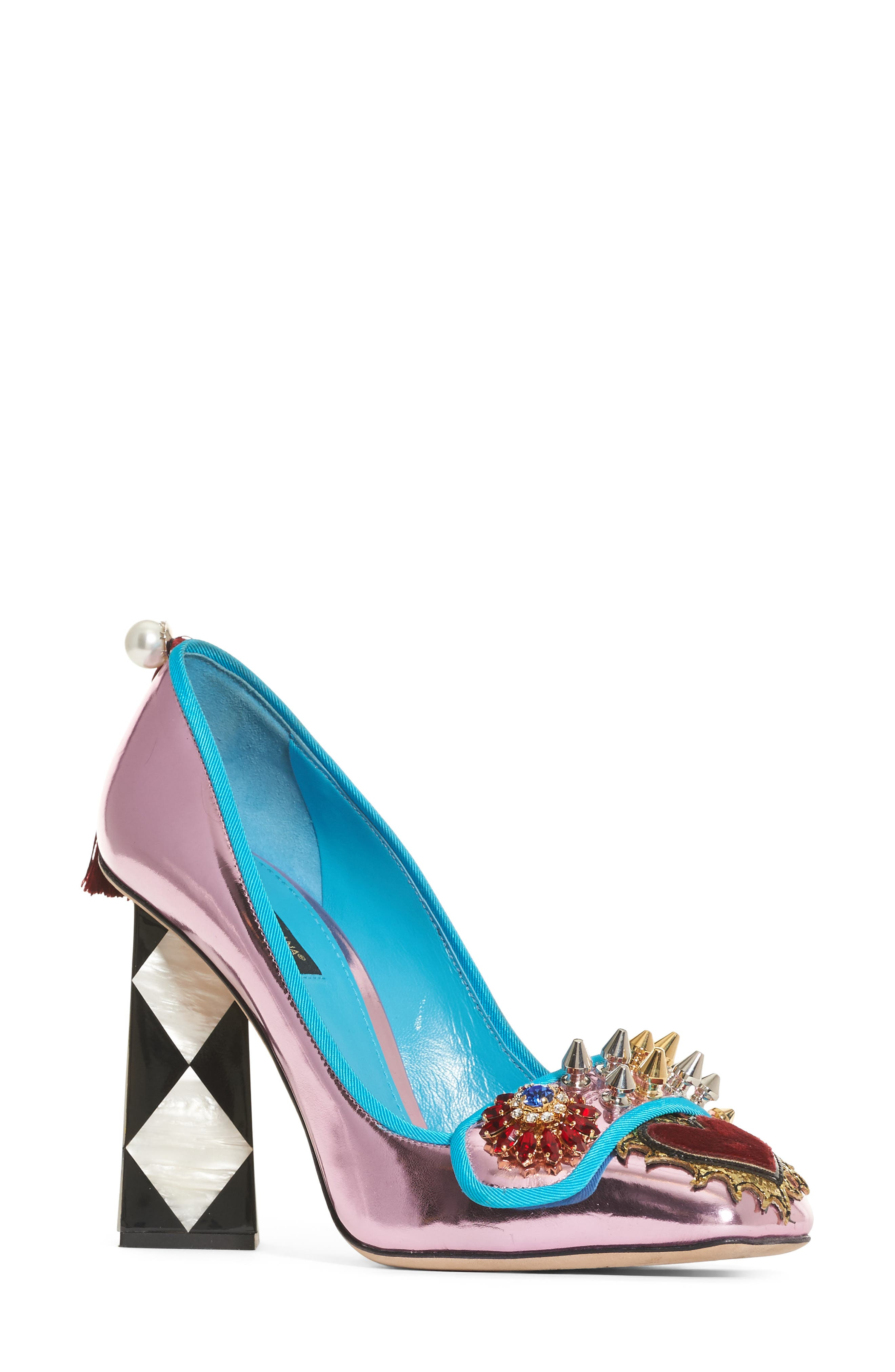 Alternate Image 1 Selected - Dolce&Gabbana Mother of Pearl Pump (Women)
