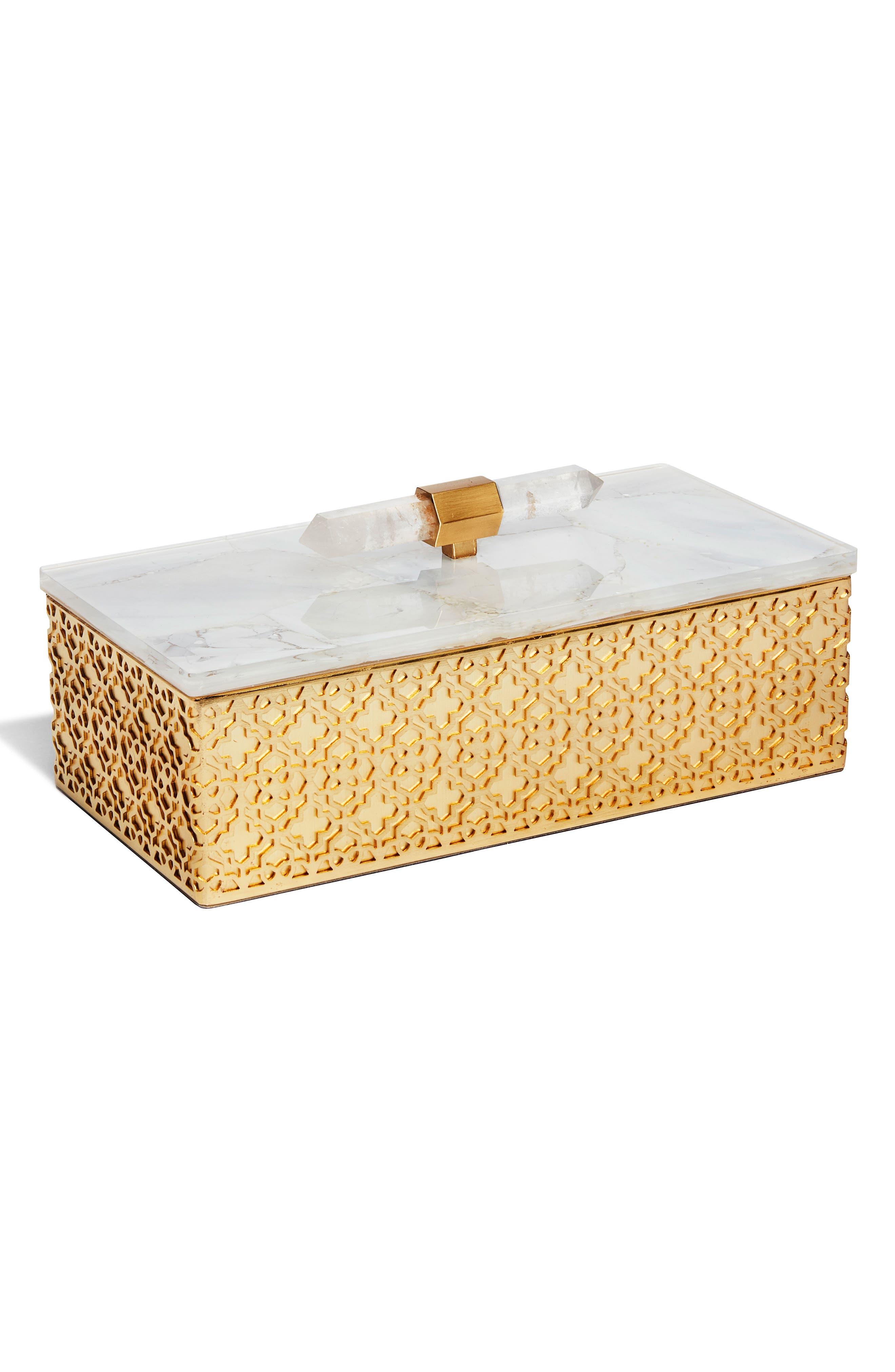Alternate Image 1 Selected - Kendra Scott Rectangle Filigree Box