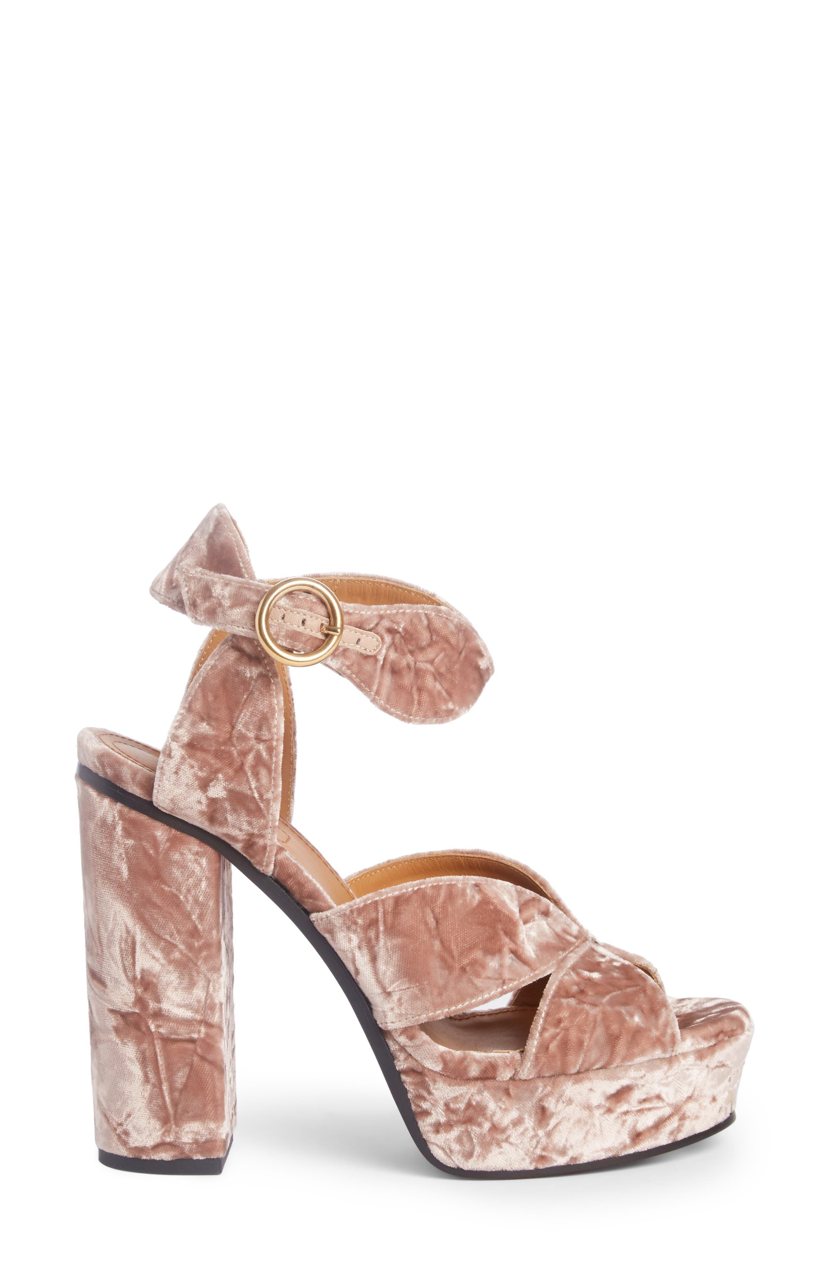 Alternate Image 4  - Chloé Graphic Leaves Platform Sandal (Women)